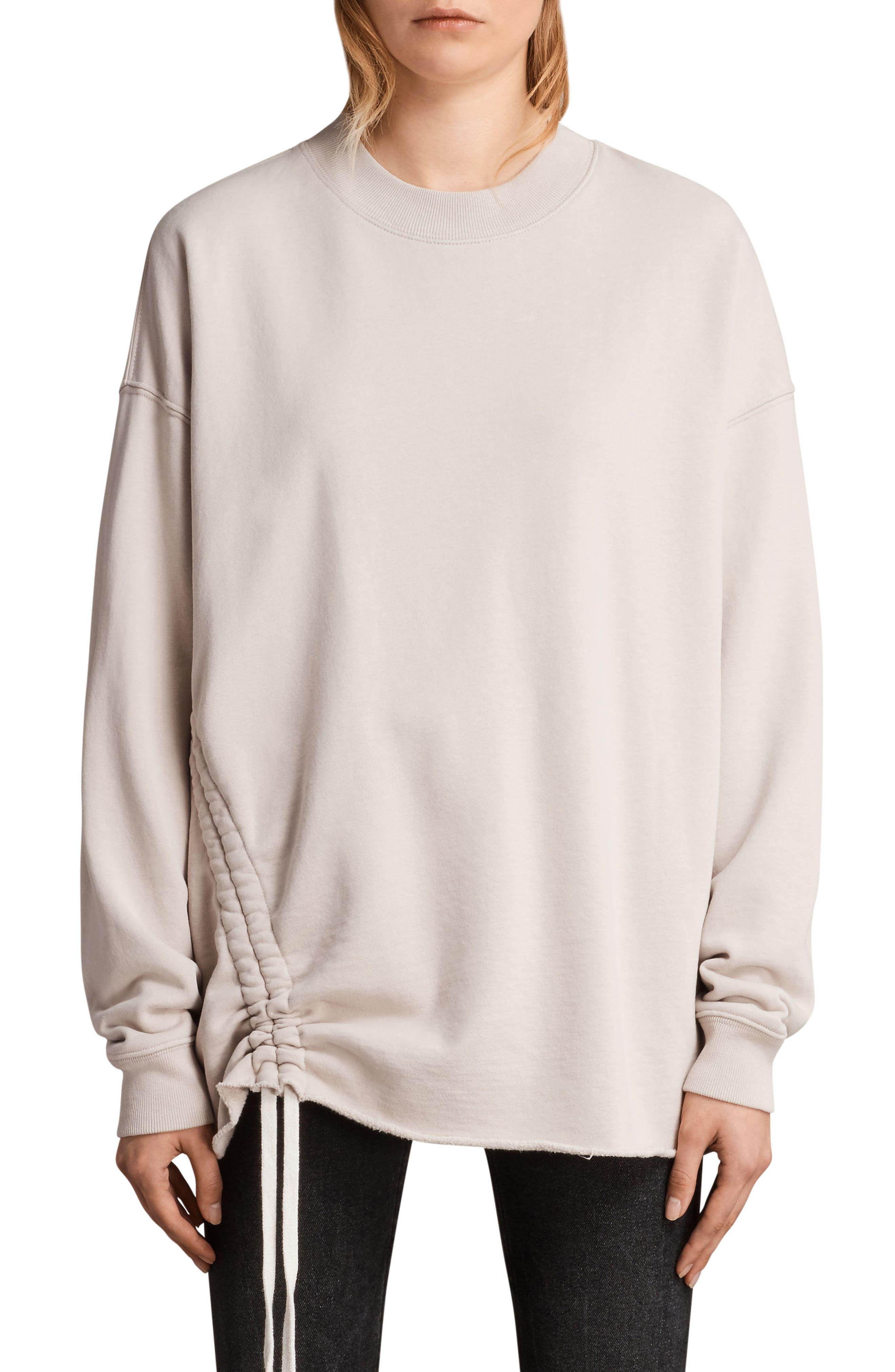 Able Sweatshirt,                         Main,                         color, Quartz Pink