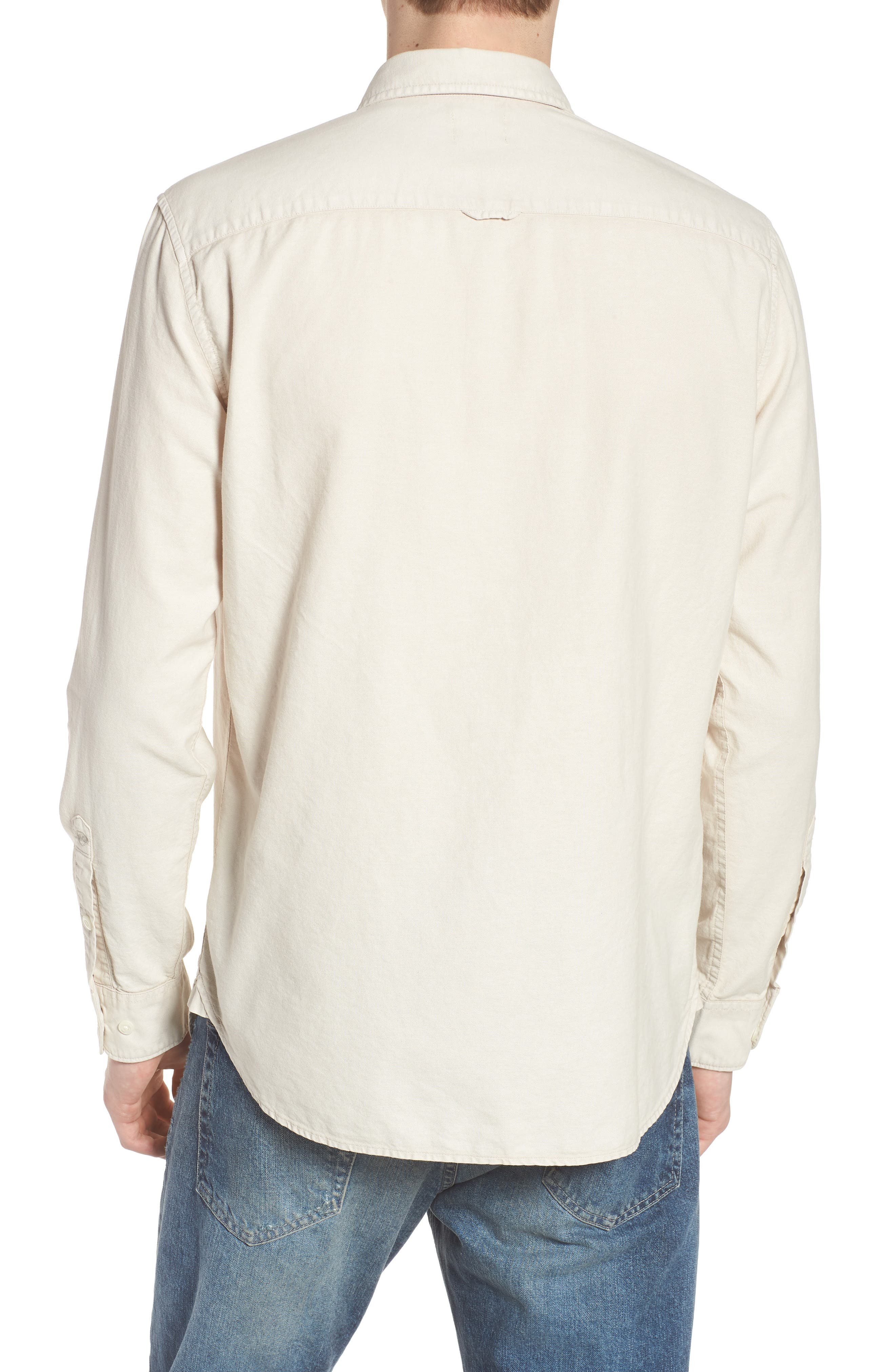 Bristol Slim Fit Sport Shirt,                             Alternate thumbnail 2, color,                             Sunbaked Mineral Veil