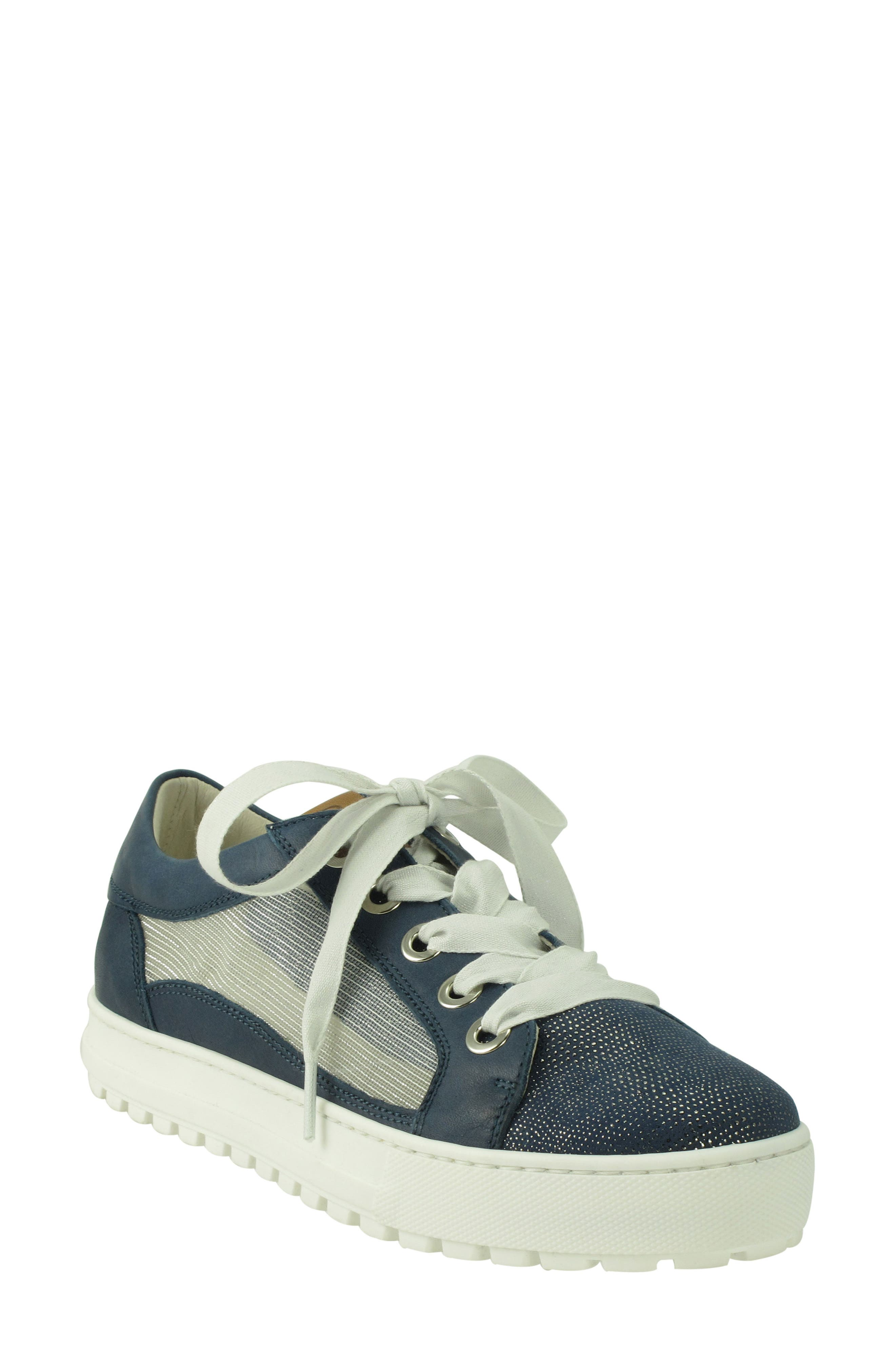 Layton Sneaker,                             Main thumbnail 1, color,                             Jeans Leather