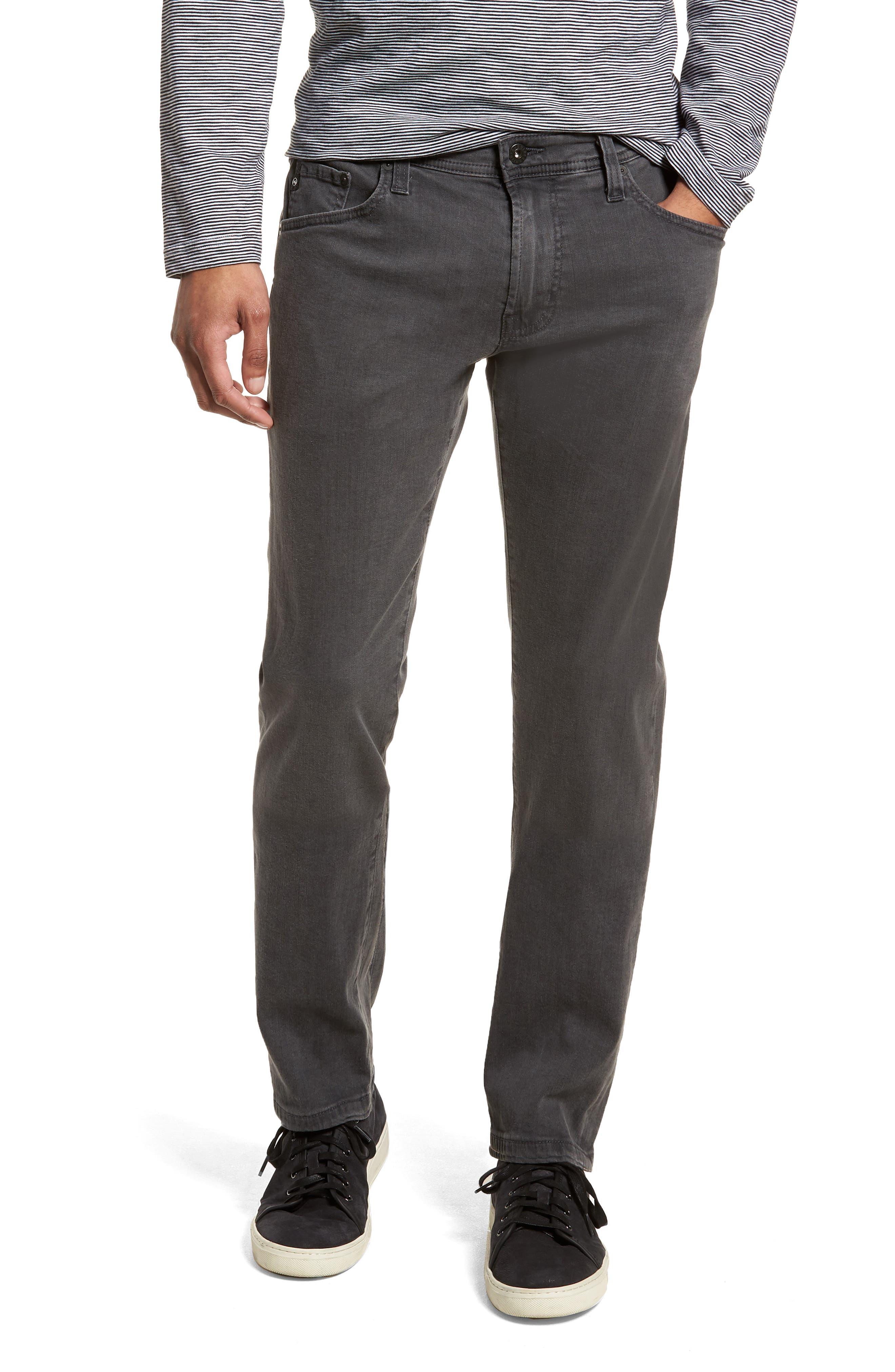 AG Tellis Slim Fit Jeans (Carbon Copy)