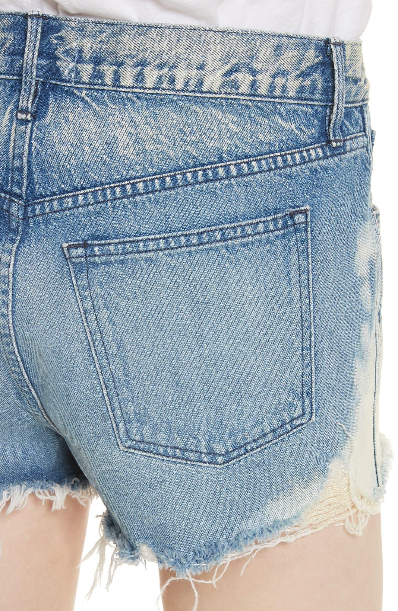 Alternate Image 4  - 3x1 NYC W2 Mason Denim Shorts (Vandal)