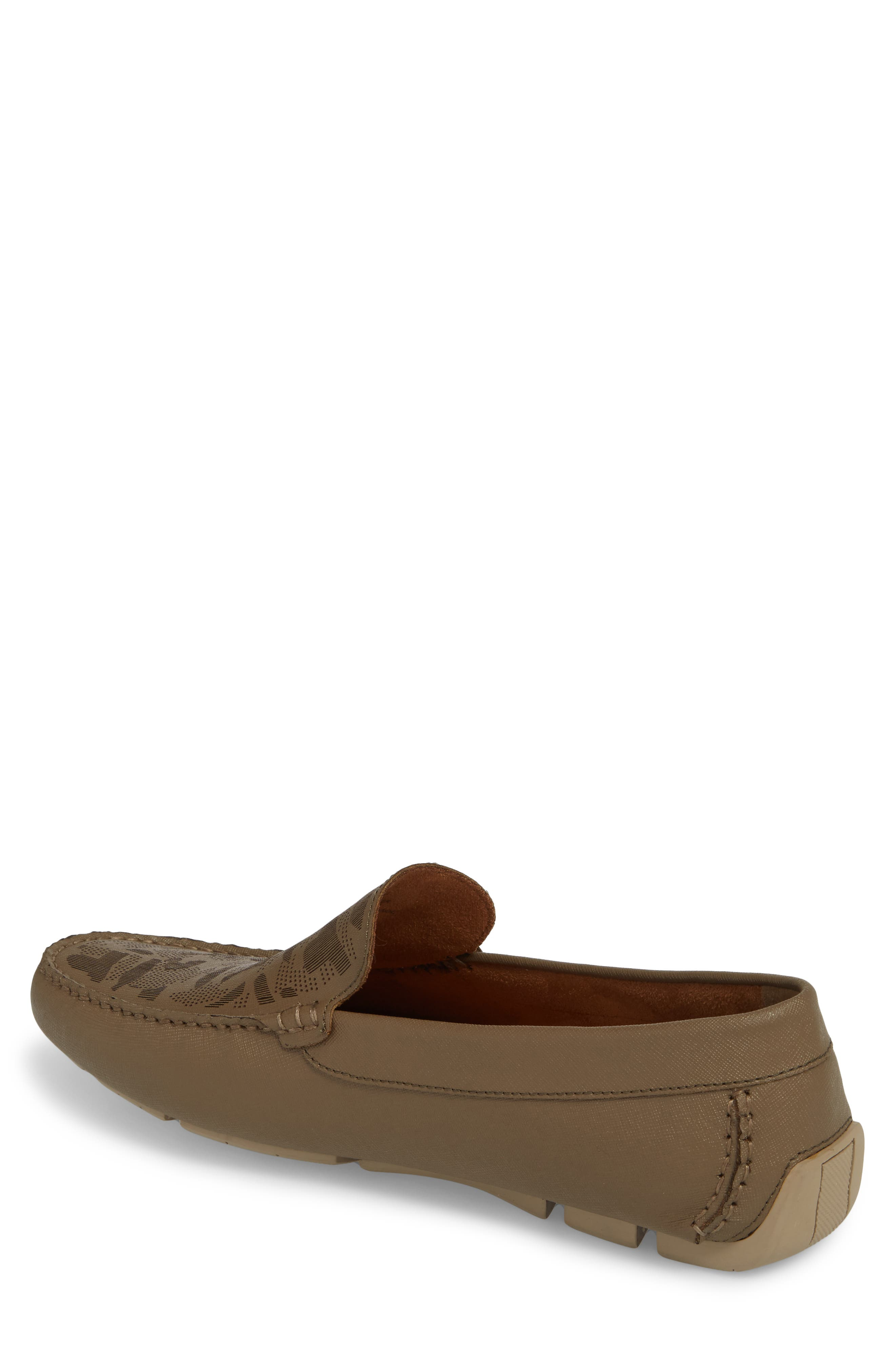 Theme Song Driving Shoe,                             Alternate thumbnail 2, color,                             Taupe Leather