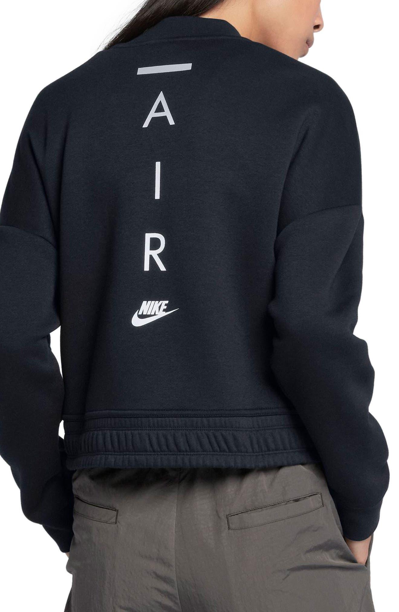 Sportswear Rally Jacket,                             Alternate thumbnail 2, color,                             Black/ Black/ Black