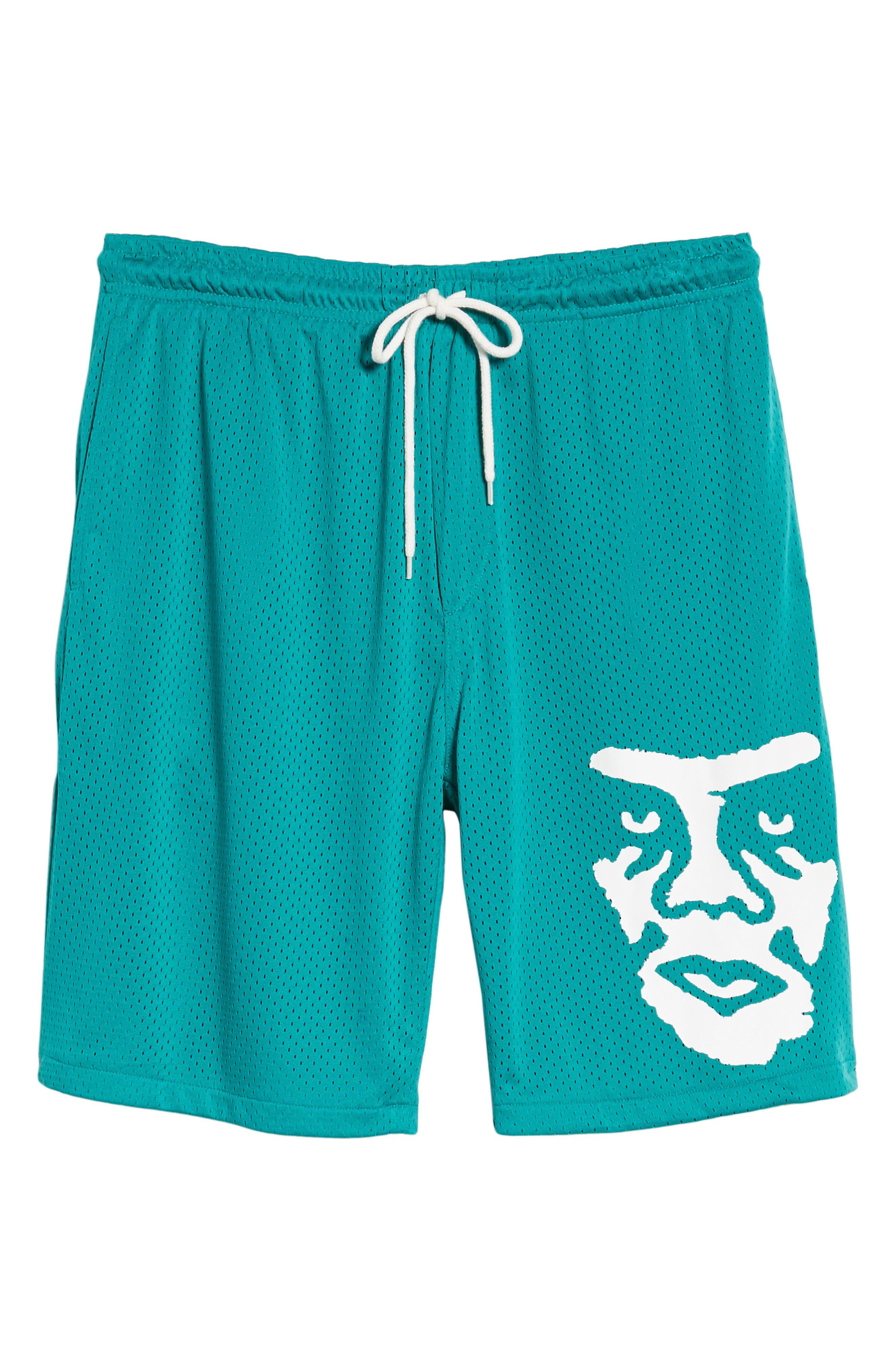 O.P.E. Athletic Shorts,                             Alternate thumbnail 6, color,                             Teal