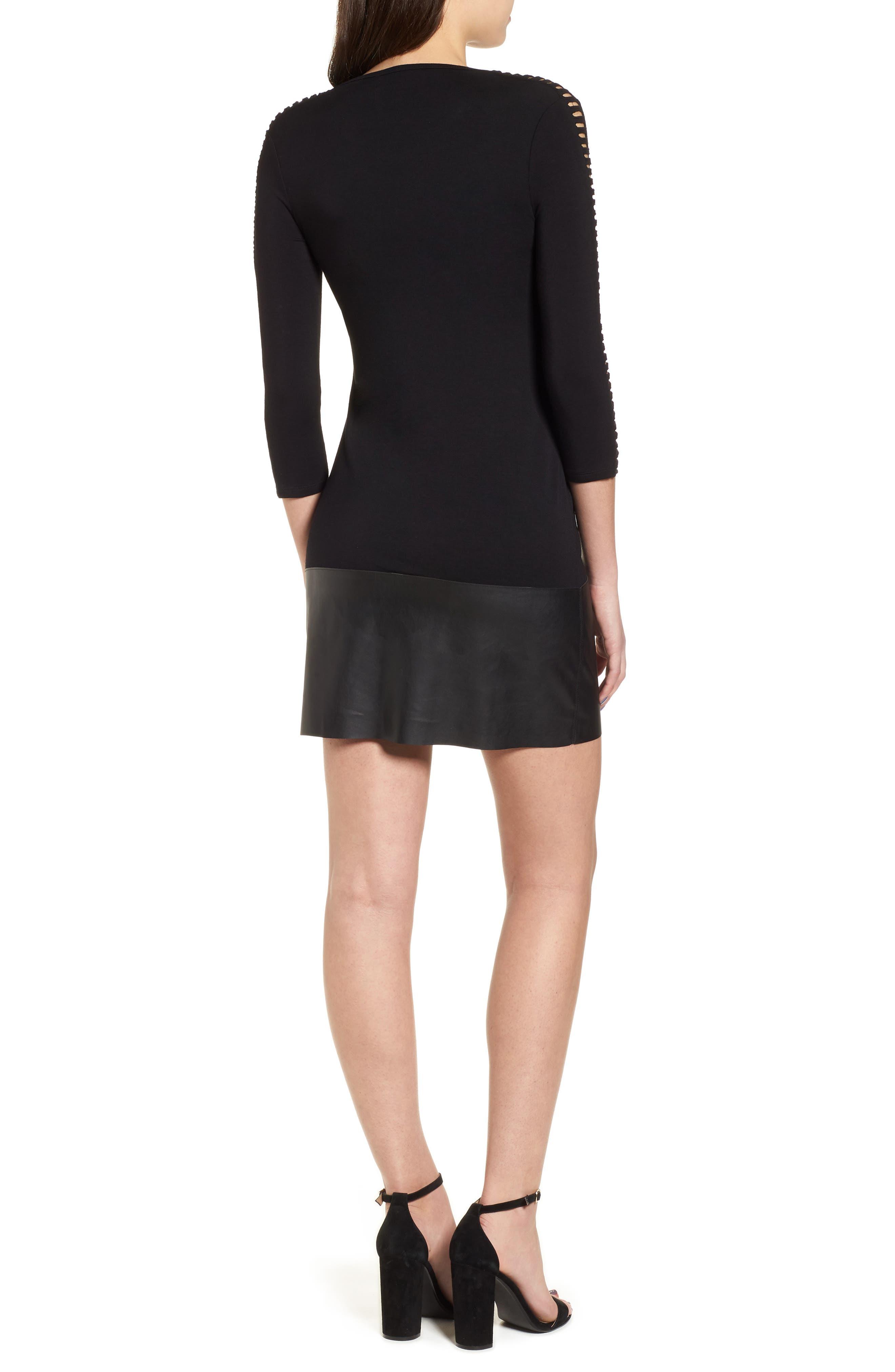Kendo Dress,                             Alternate thumbnail 2, color,                             Black