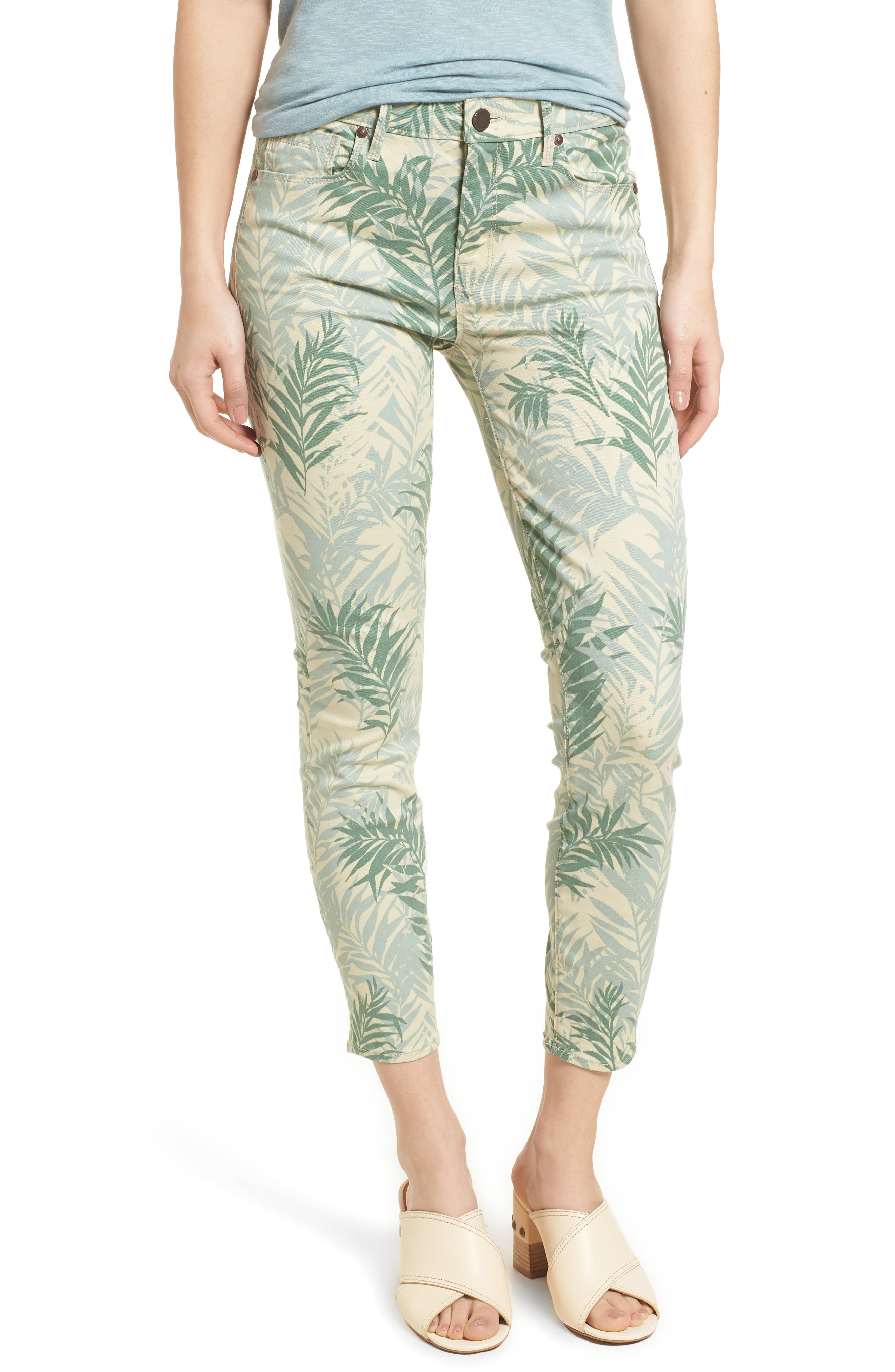 Main Image - Parker Smith Ava Crop Skinny Jeans