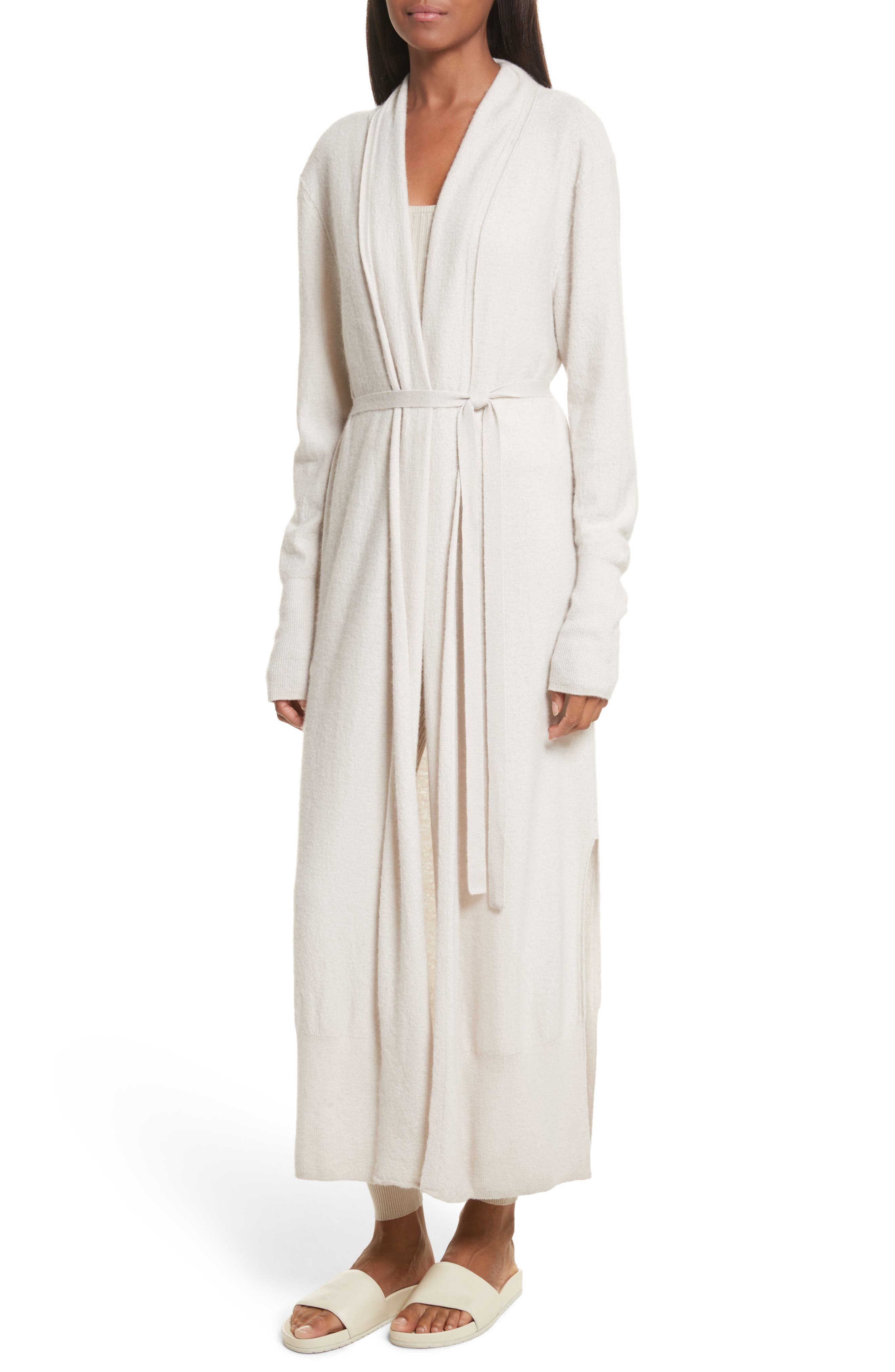 Alternate Image 4  - Vince Side Slit Long Cardigan