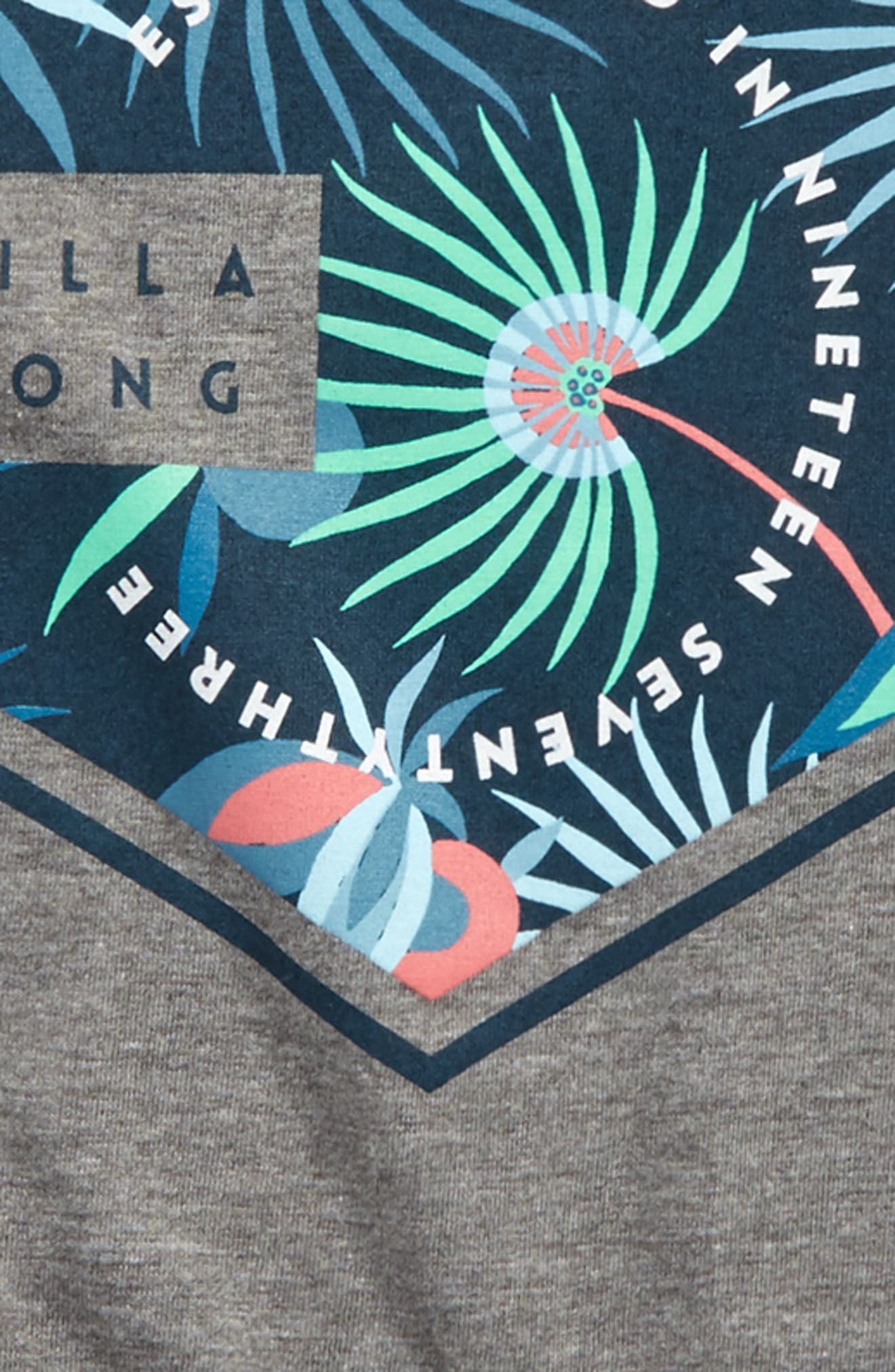 Access Graphic T-Shirt,                             Alternate thumbnail 2, color,                             Dark Grey Heather