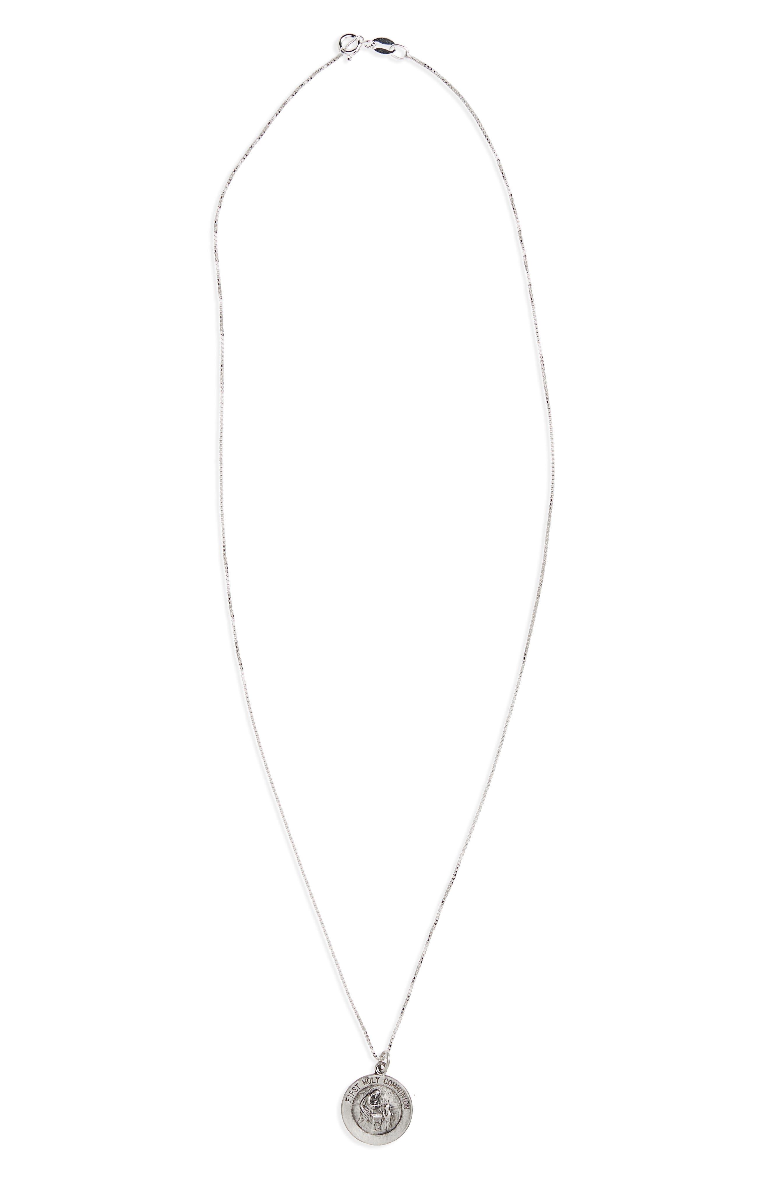 Kardee Kids St. Christopher Pendant Necklace (Girls)