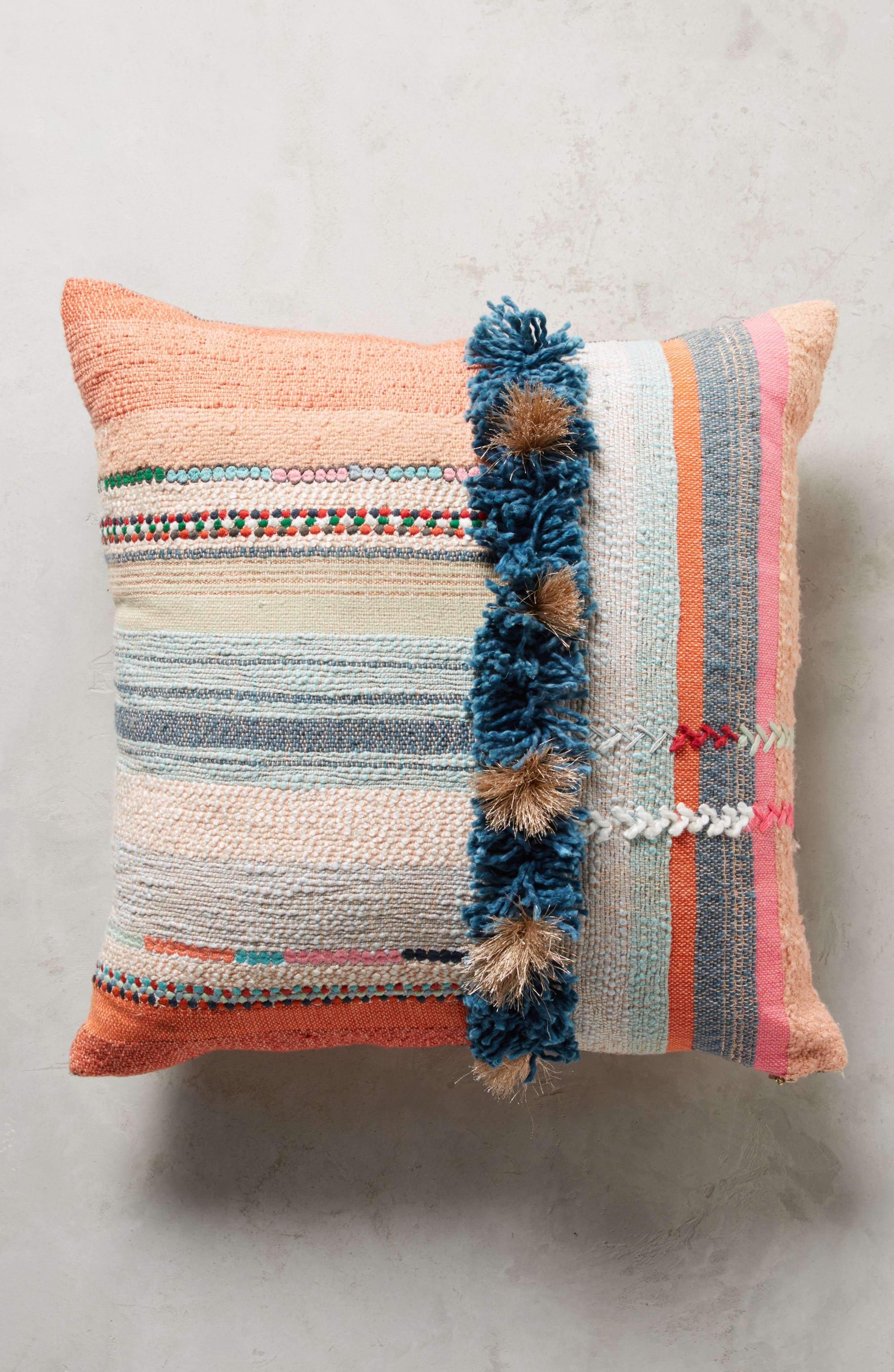 Yoursa Accent Pillow,                         Main,                         color, Coral