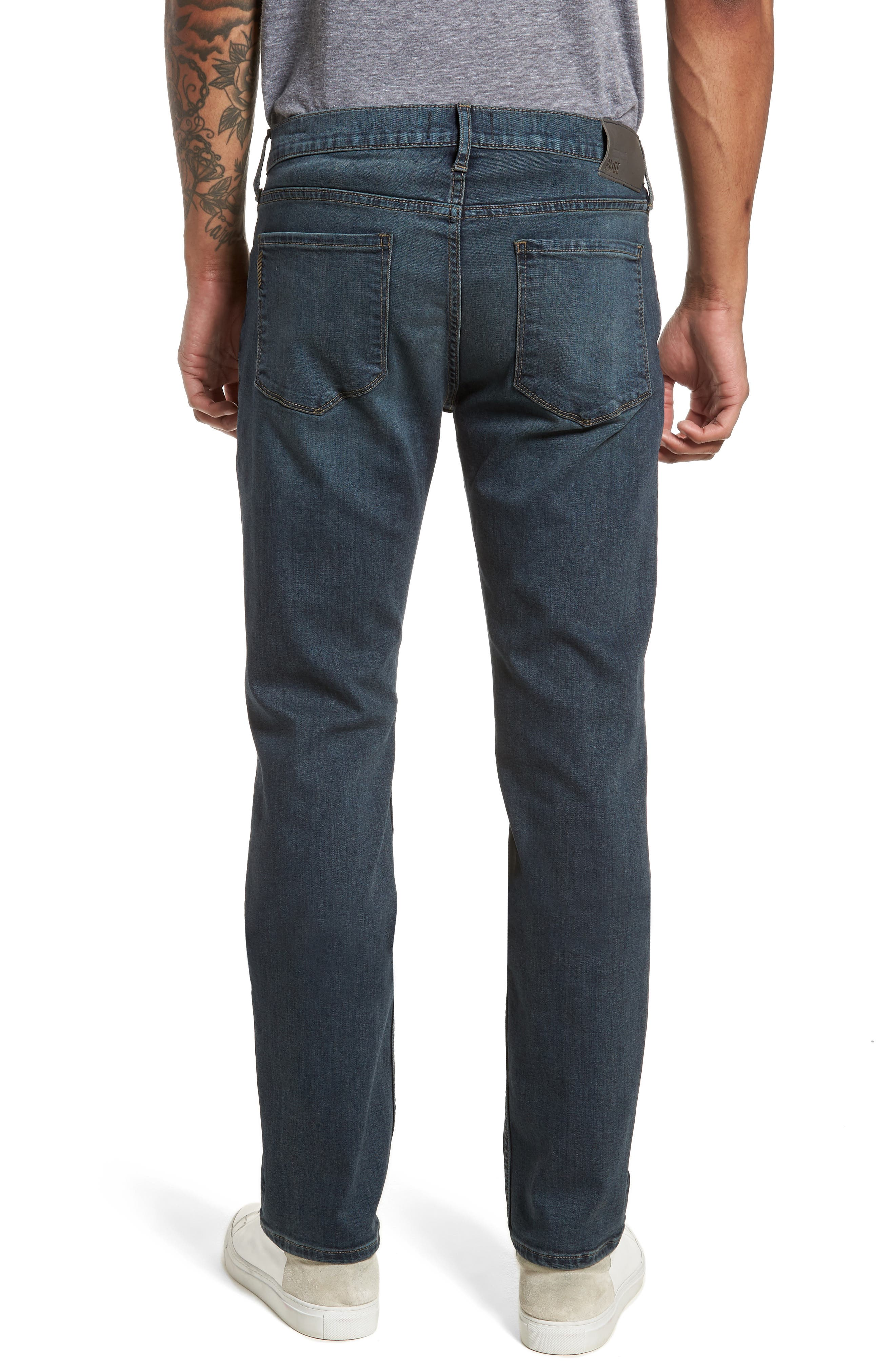 Byron Slim Straight Fit Jeans,                             Alternate thumbnail 2, color,                             Cruise