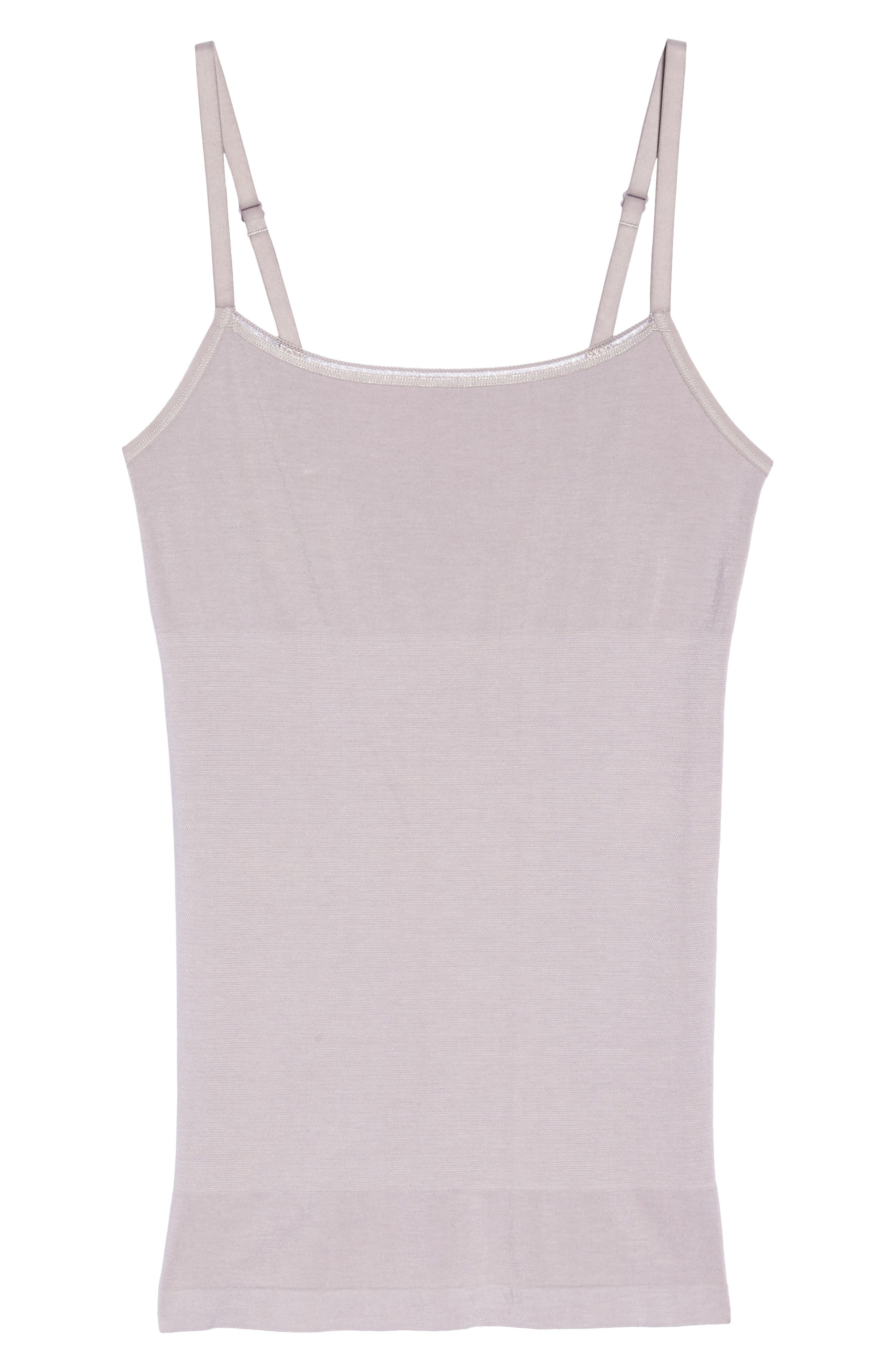 Seamlessly Shaped Convertible Camisole,                             Alternate thumbnail 8, color,                             Gull Gray