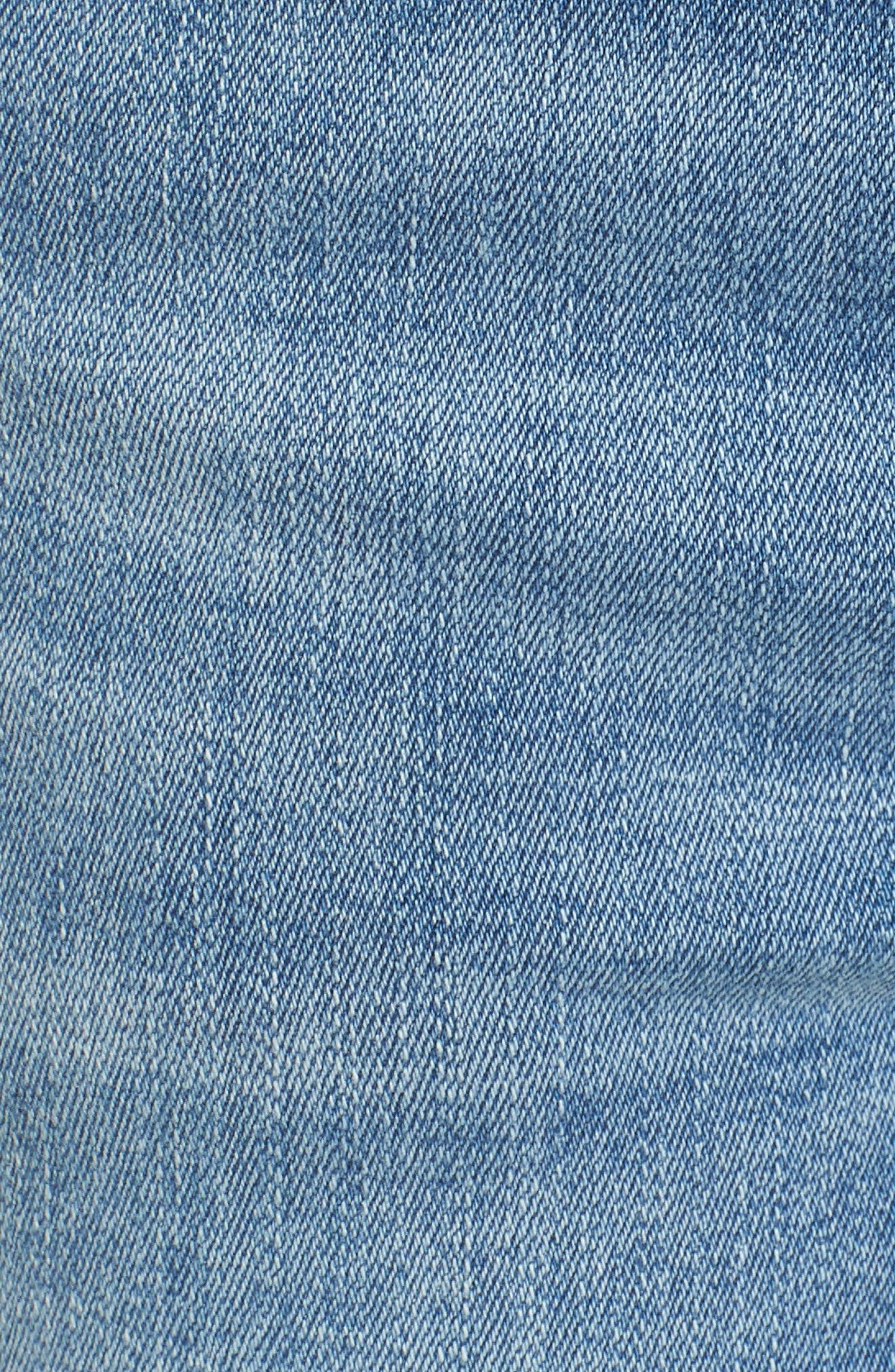 Florence Instasculpt Crop Skinny Jeans,                             Alternate thumbnail 6, color,                             Cavalier