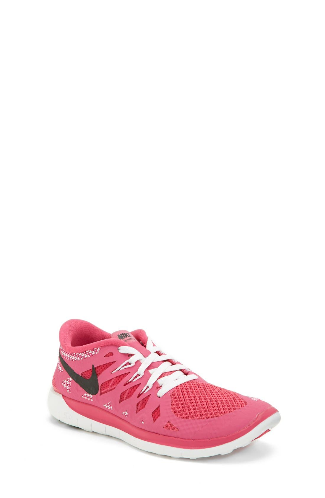 Alternate Image 1 Selected - Nike 'Free 5.0' Running Shoe (Big Kid)