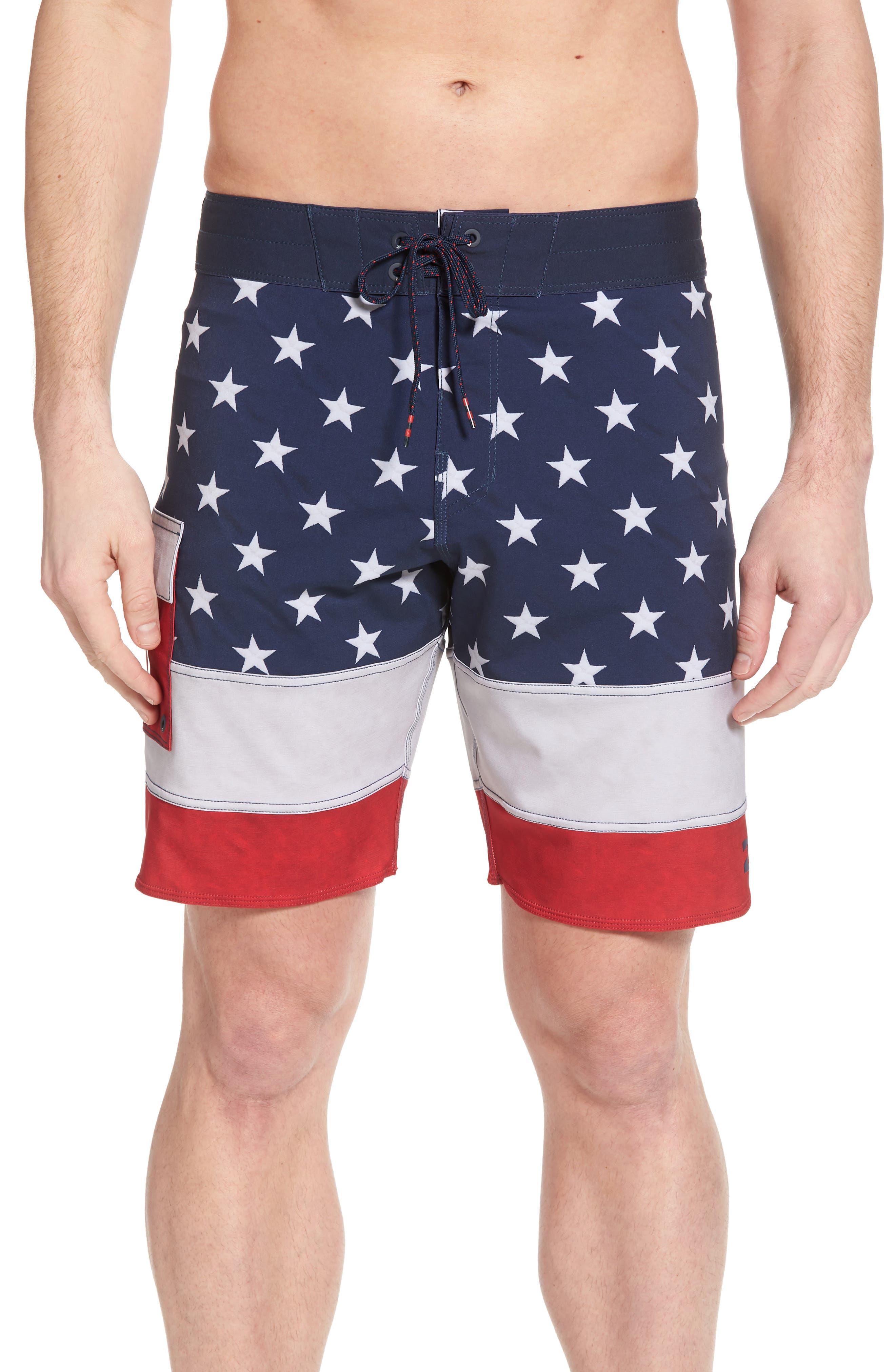 Pump X Board Shorts,                         Main,                         color, Navy