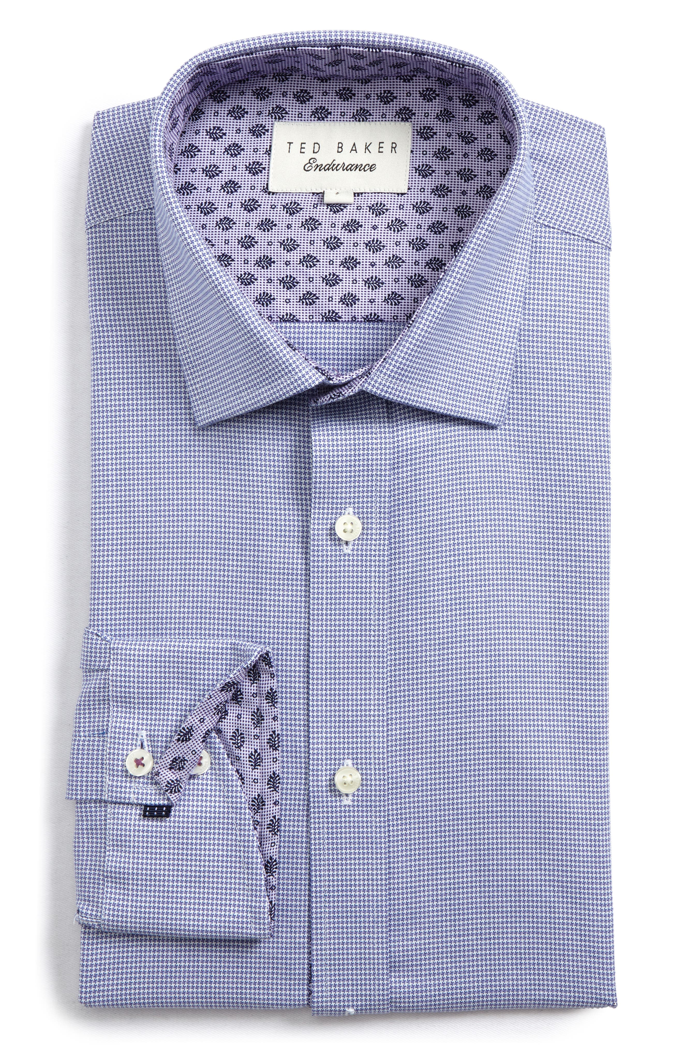 Ted Baker London Endurance Renton Trim Fit Dress Shirt