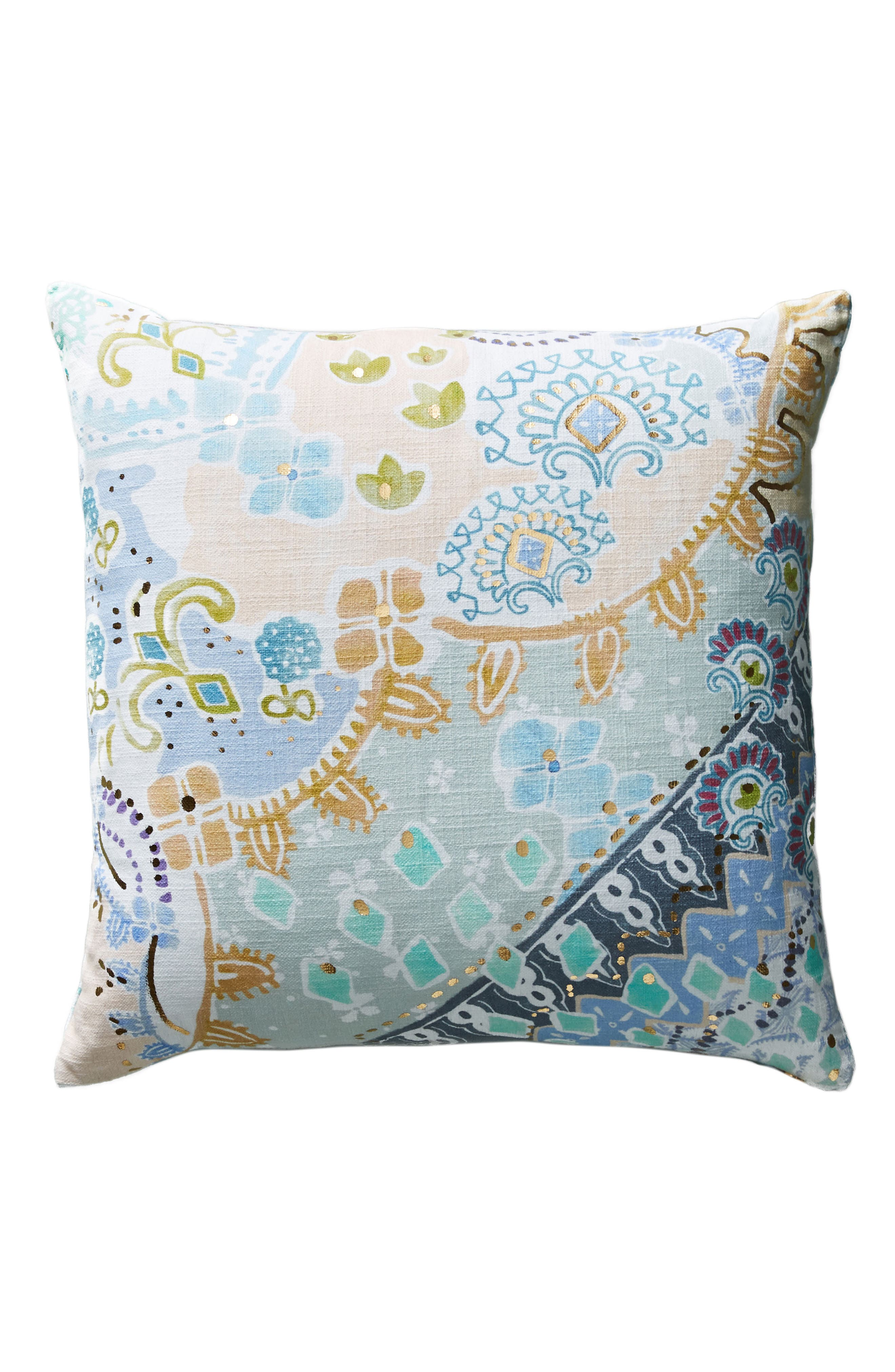 Clarence Accent Pillow,                             Alternate thumbnail 6, color,                             Blue Combo