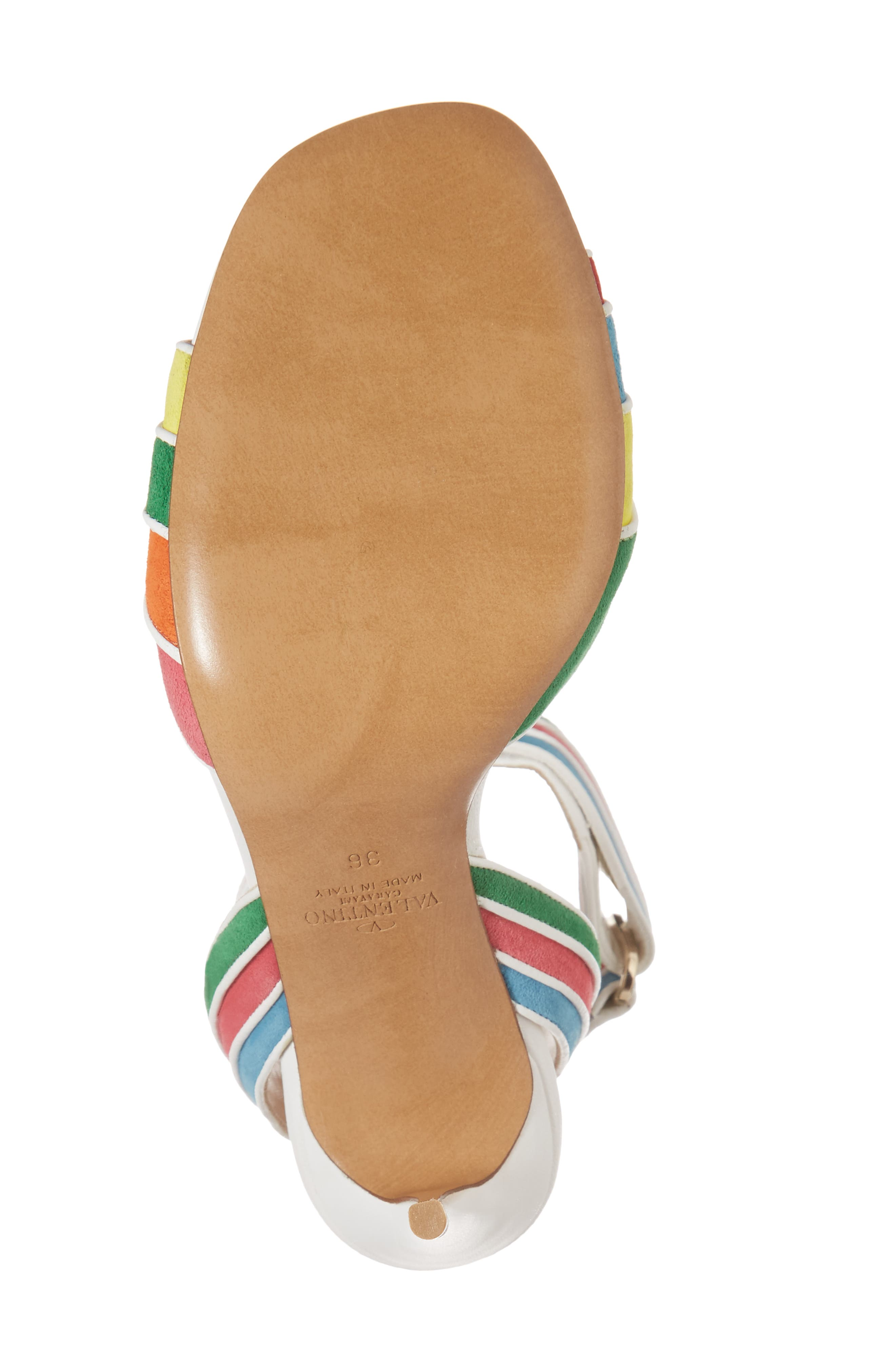 Alternate Image 6  - VALENTINO GARAVANI Rainbow Sandal (Women)