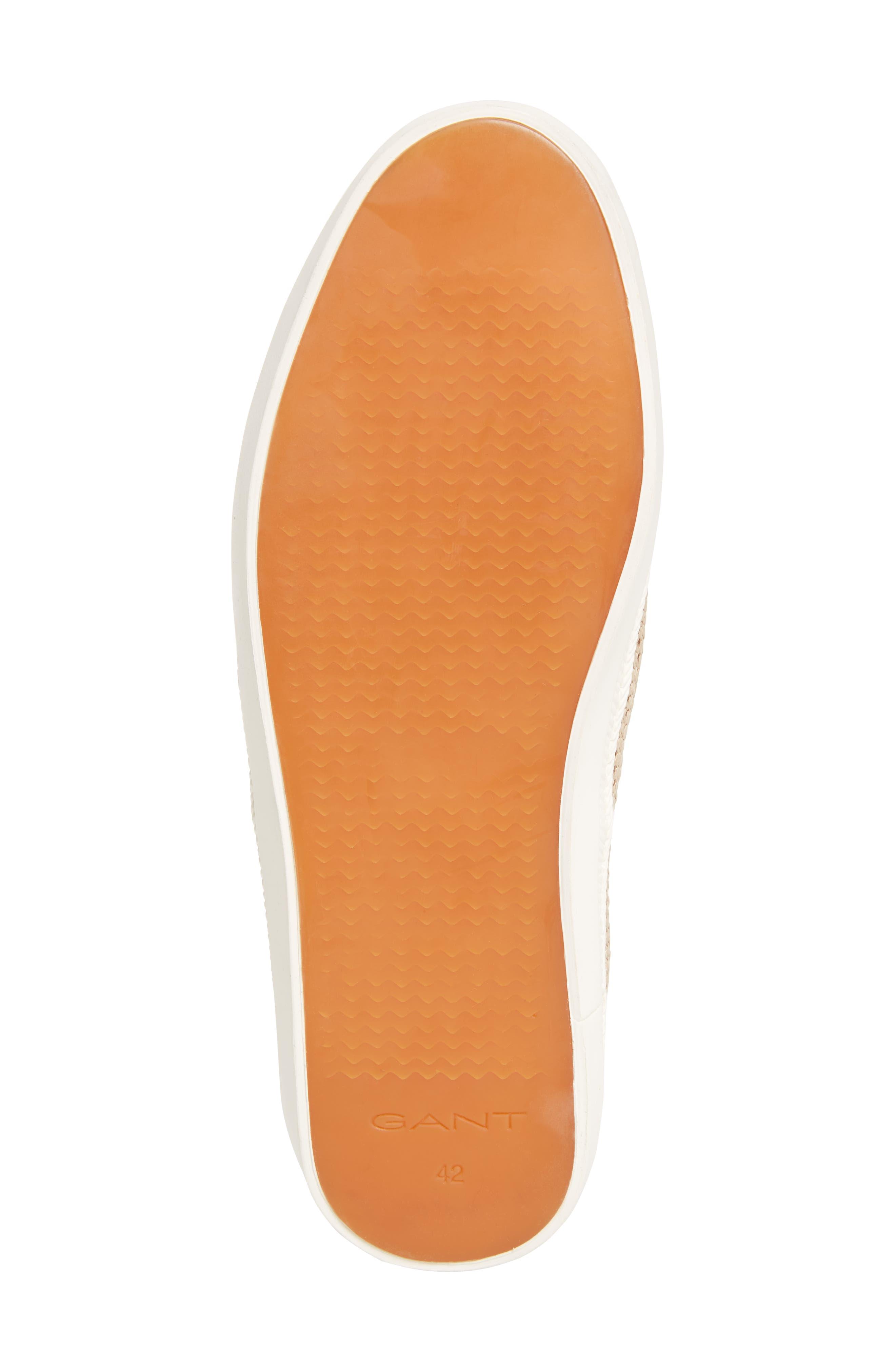 Viktor Woven Slip-On Sneaker,                             Alternate thumbnail 6, color,                             Dry Sand