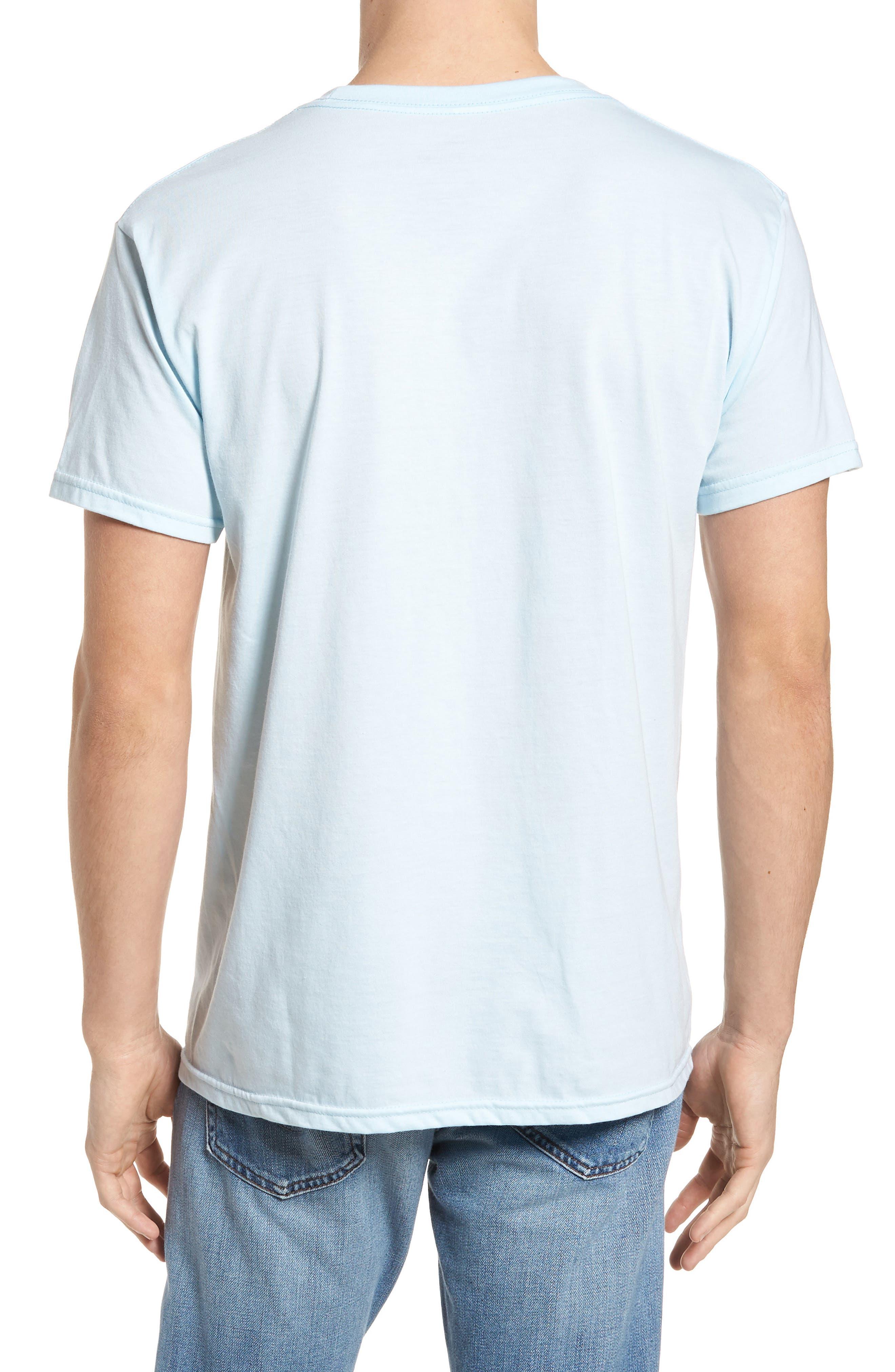 Tide Graphic T-Shirt,                             Alternate thumbnail 2, color,                             Light Blue Heather