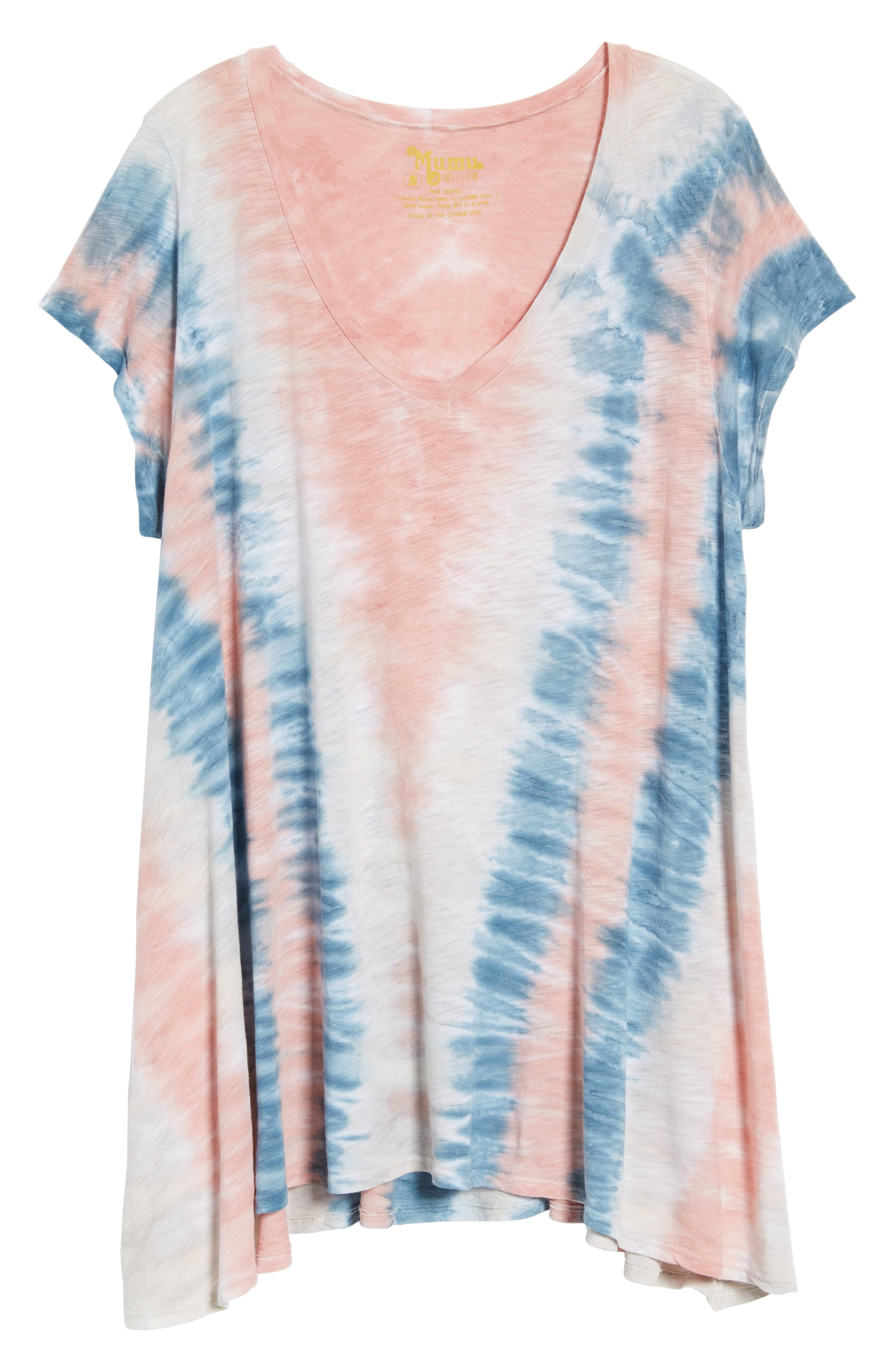 Hetland Swing Tee,                             Alternate thumbnail 7, color,                             Desert Sky Tie Dye