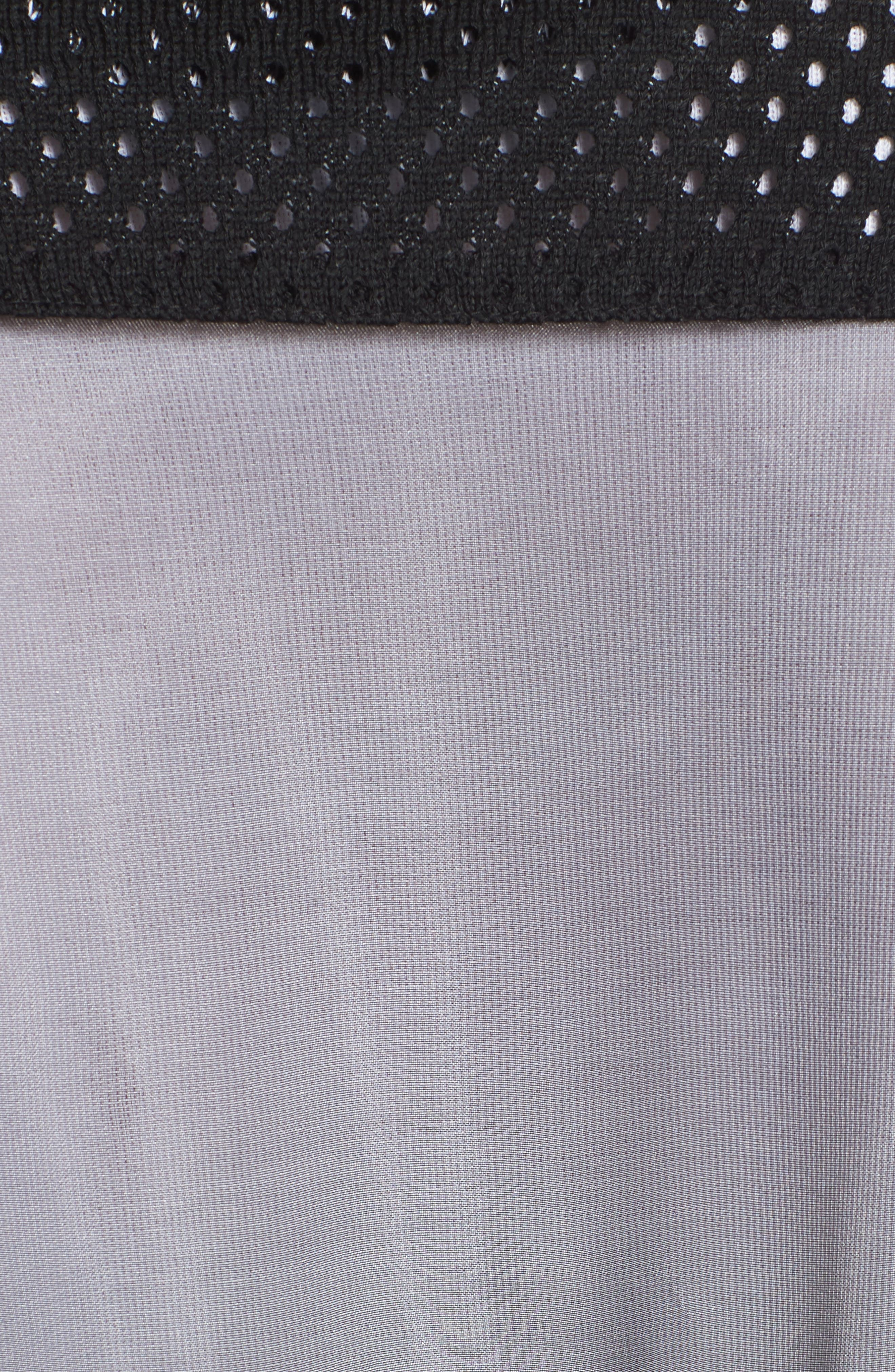 Sheer Jacket,                             Alternate thumbnail 5, color,                             Black