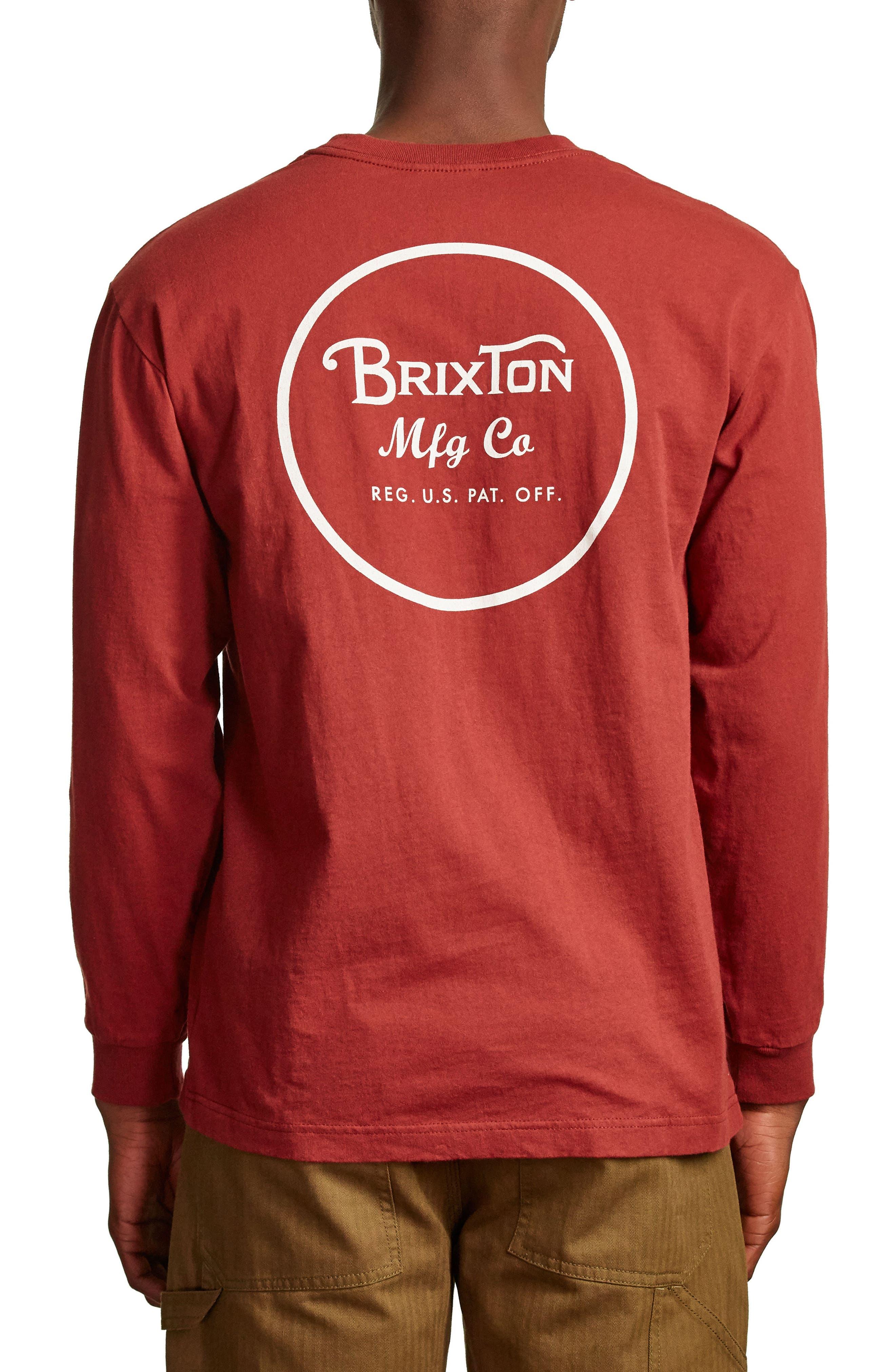 Alternate Image 2  - Brixton Wheeler II T-Shirt