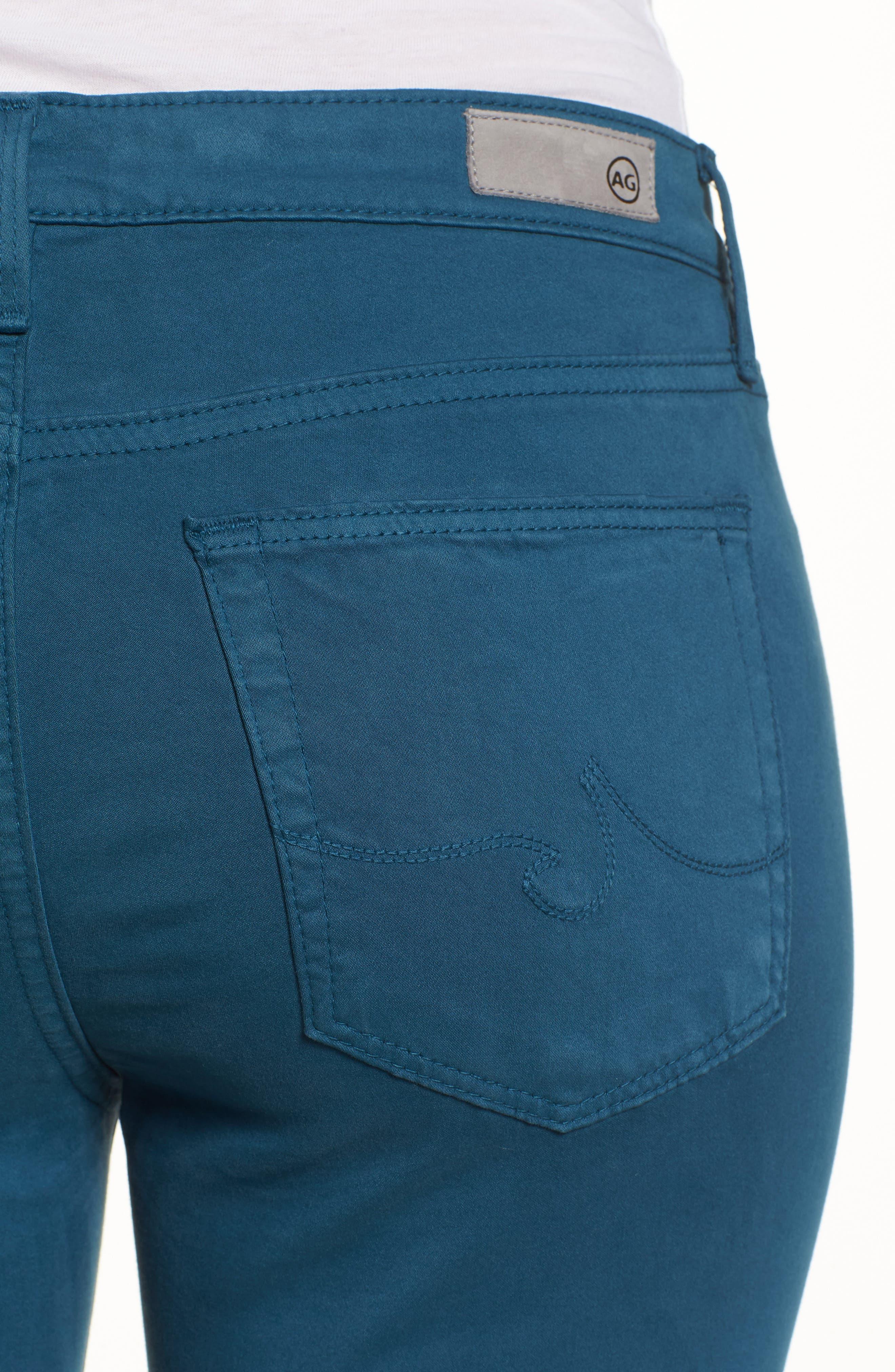 Alternate Image 4  - AG The Prima Crop Cigarette Jeans