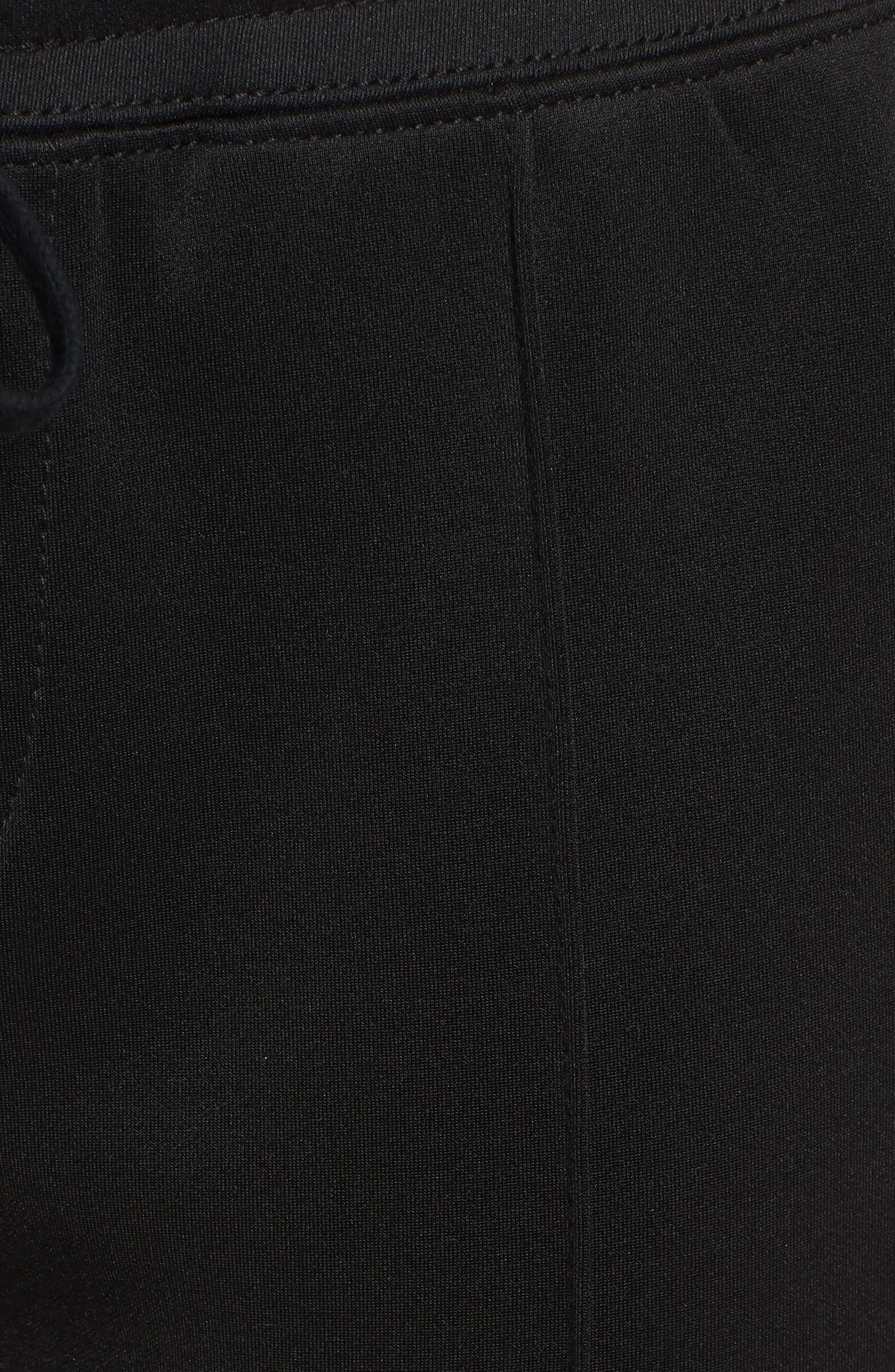 Cigarette Track Pants,                             Alternate thumbnail 6, color,                             Black