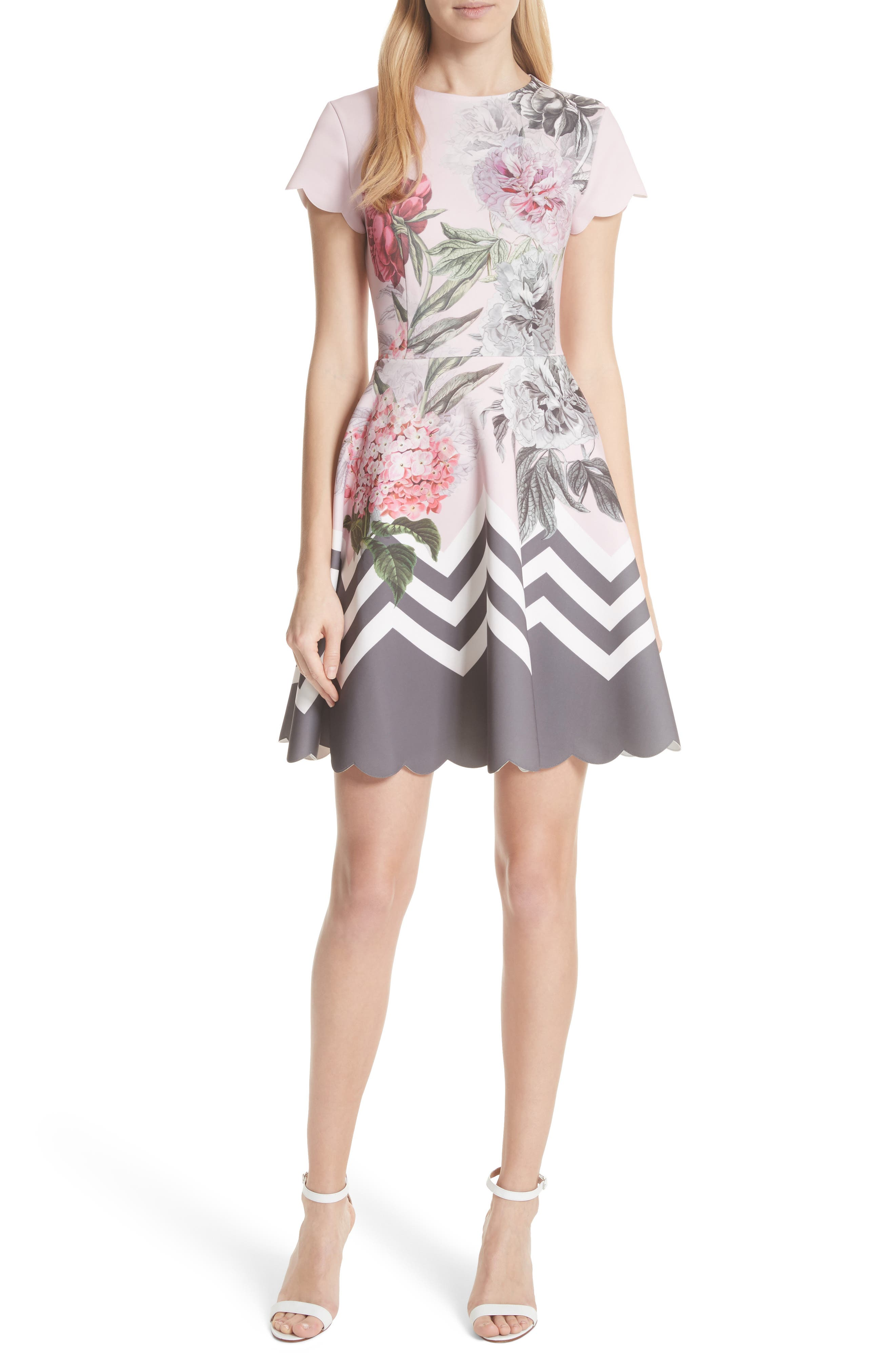 Ted Baker London Palace Gardens Skater Dress