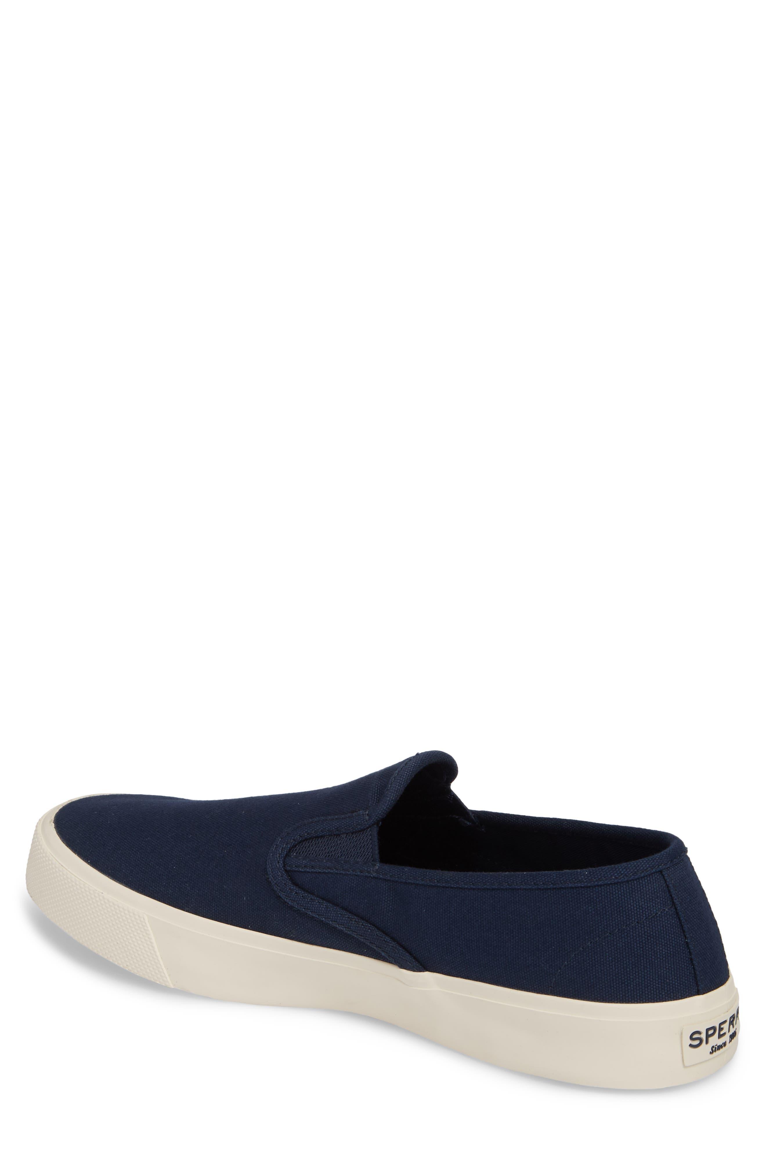Striper II Slip-On Sneaker,                             Alternate thumbnail 2, color,                             Navy