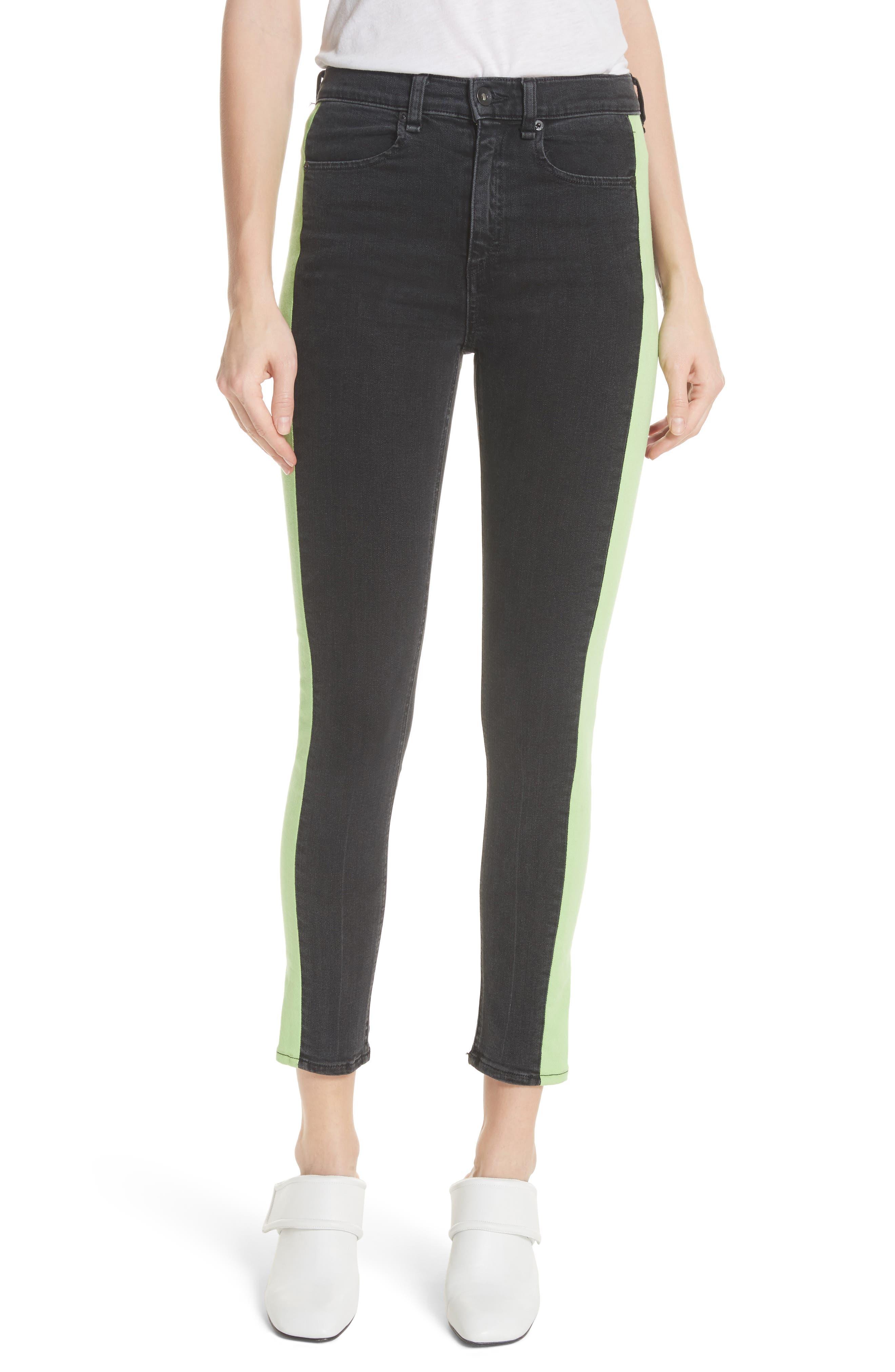rag & bone/JEAN Mazie High Waist Skinny Jeans