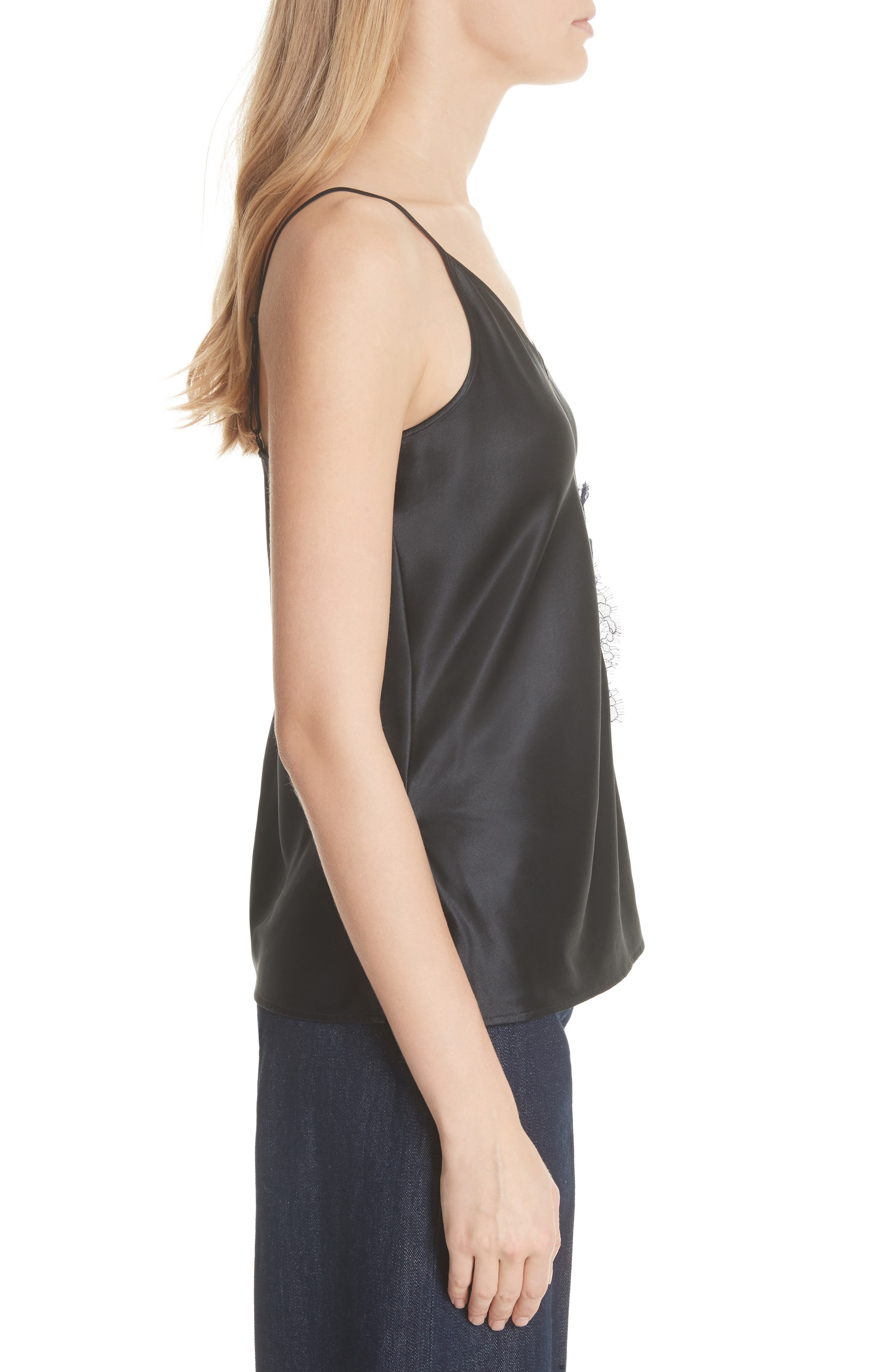 Alternate Image 3  - Tory Burch Claire Lace Pocket Camisole