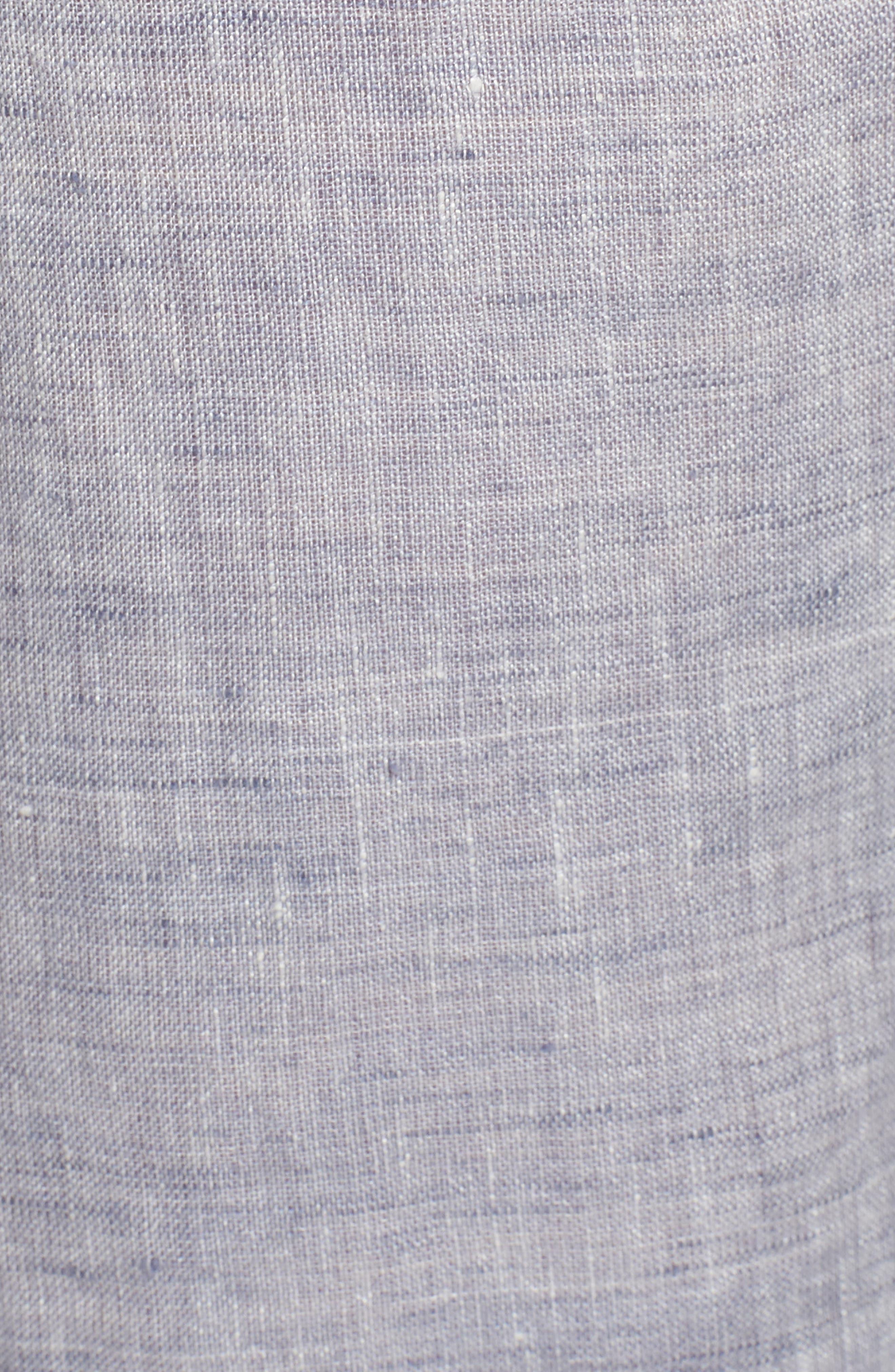 Laid Back Linen Pants,                             Alternate thumbnail 6, color,                             Indigo Mix