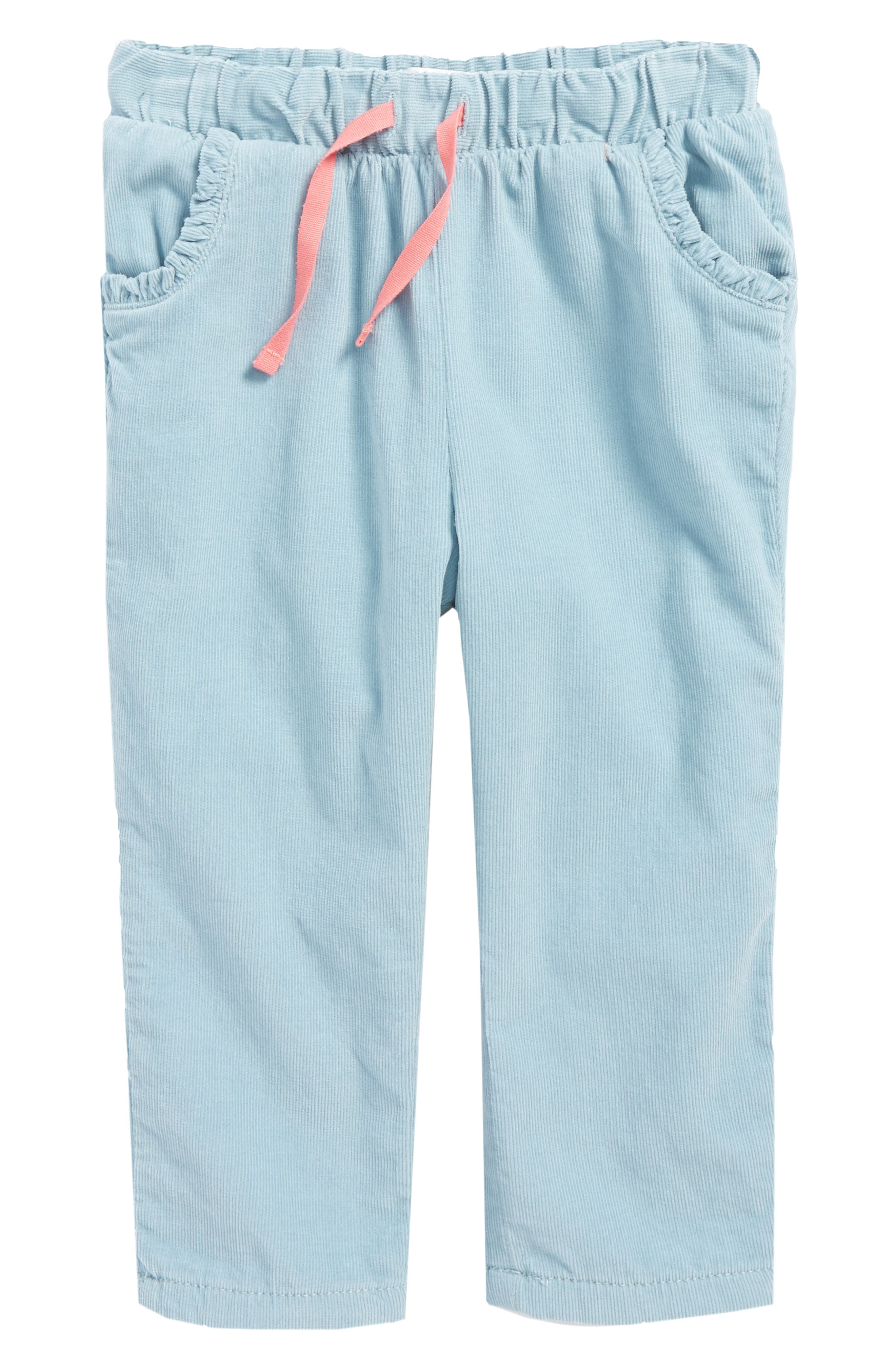 Mini Boden Heart Pocket Corduroy Pants (Baby Girls & Toddler Girls)