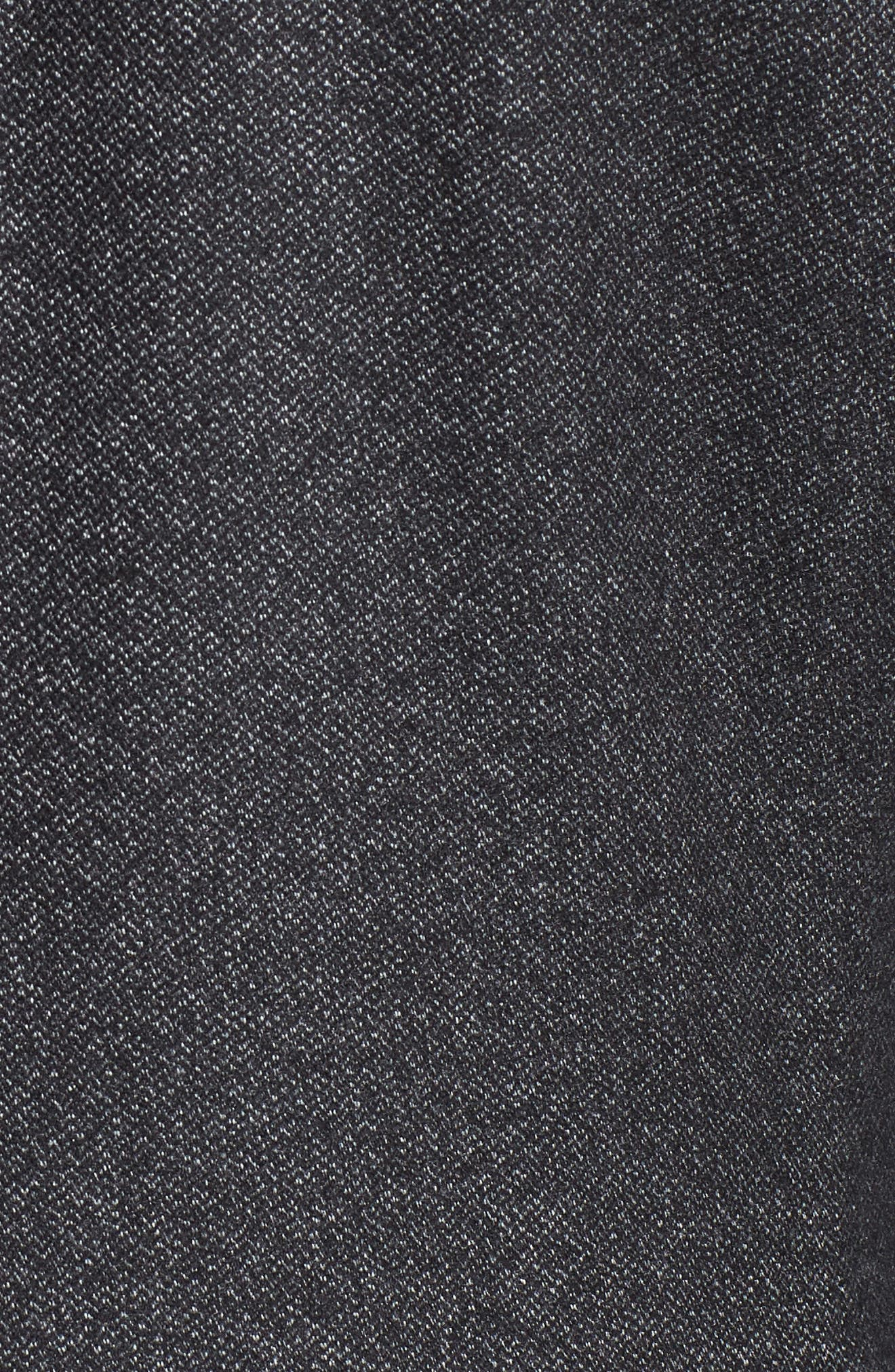 Beektt Semi Plain Trim Fit Jacket,                             Alternate thumbnail 5, color,                             Charcoal