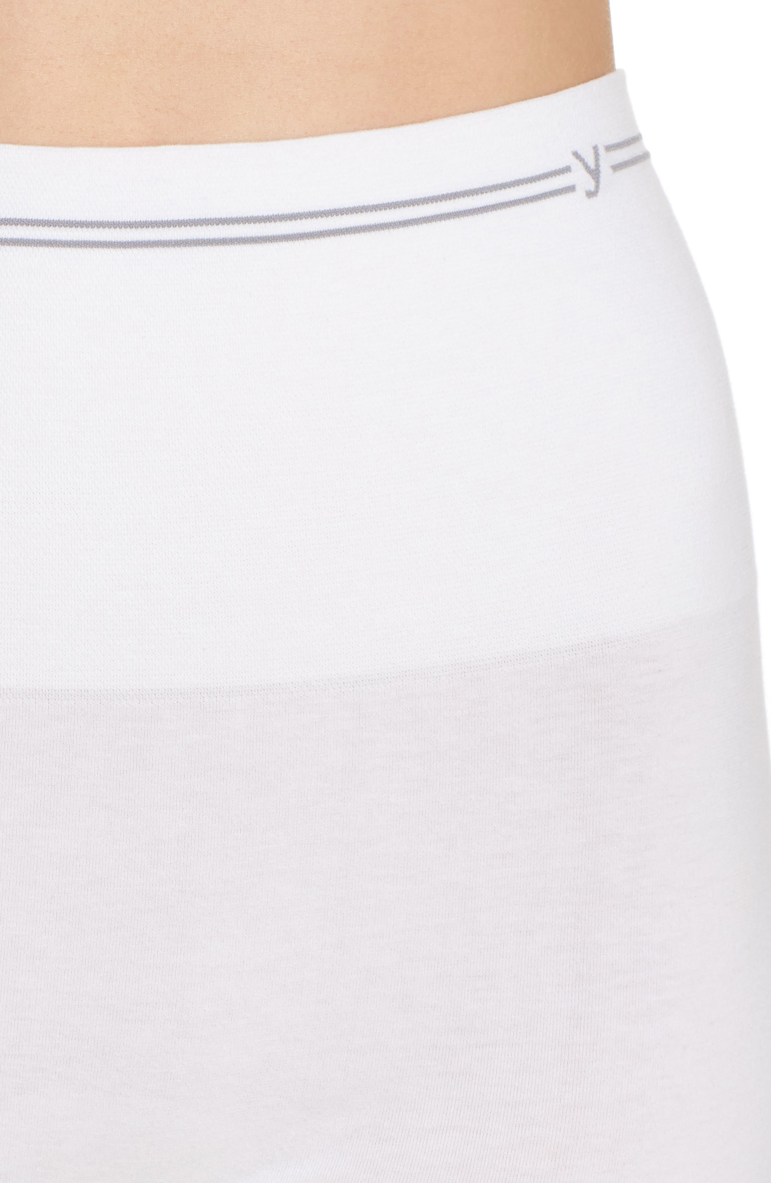 Seamless Shaping Shorts,                             Alternate thumbnail 6, color,                             White