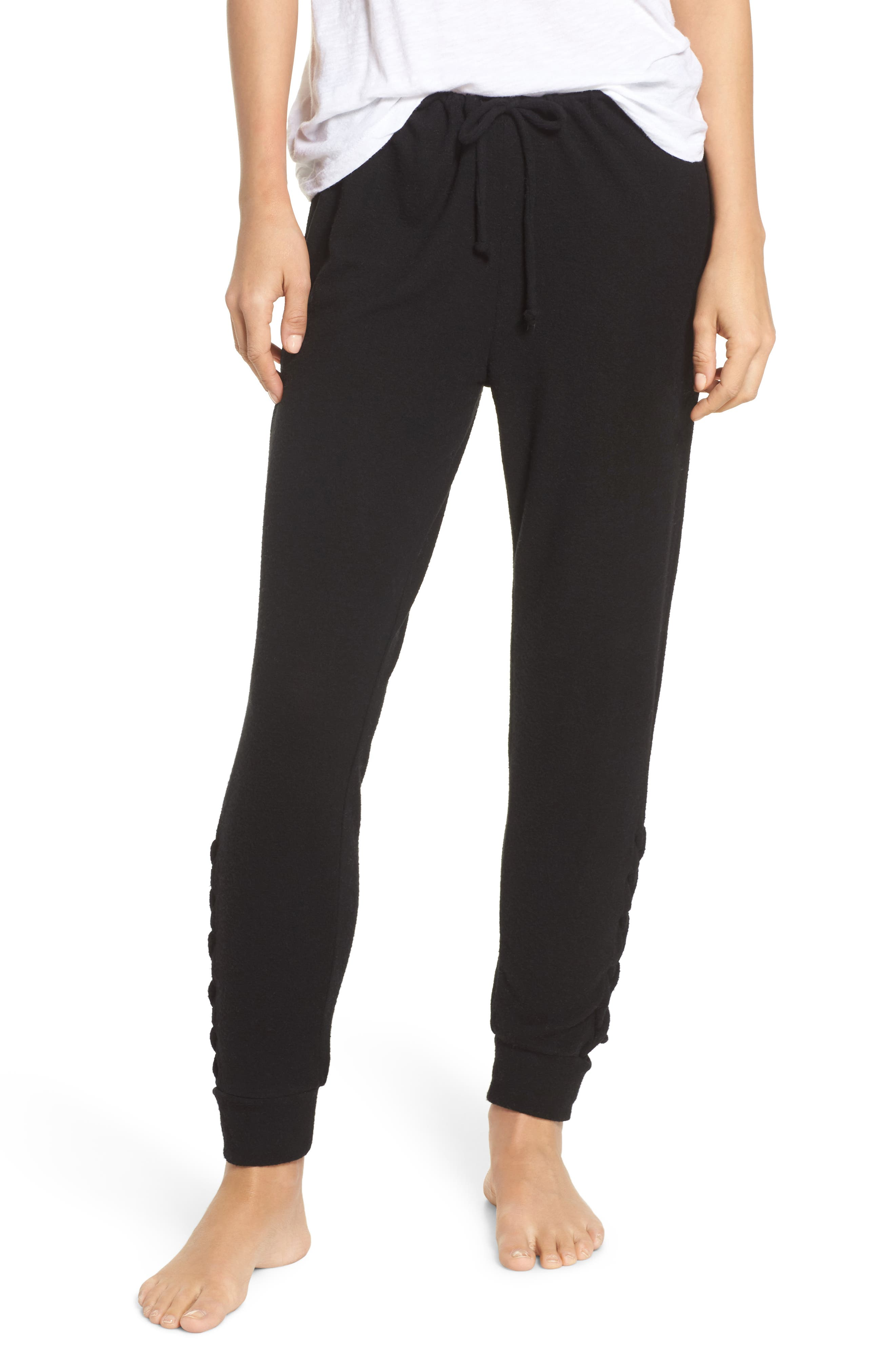 Love Sweatpants,                             Main thumbnail 1, color,                             True Black