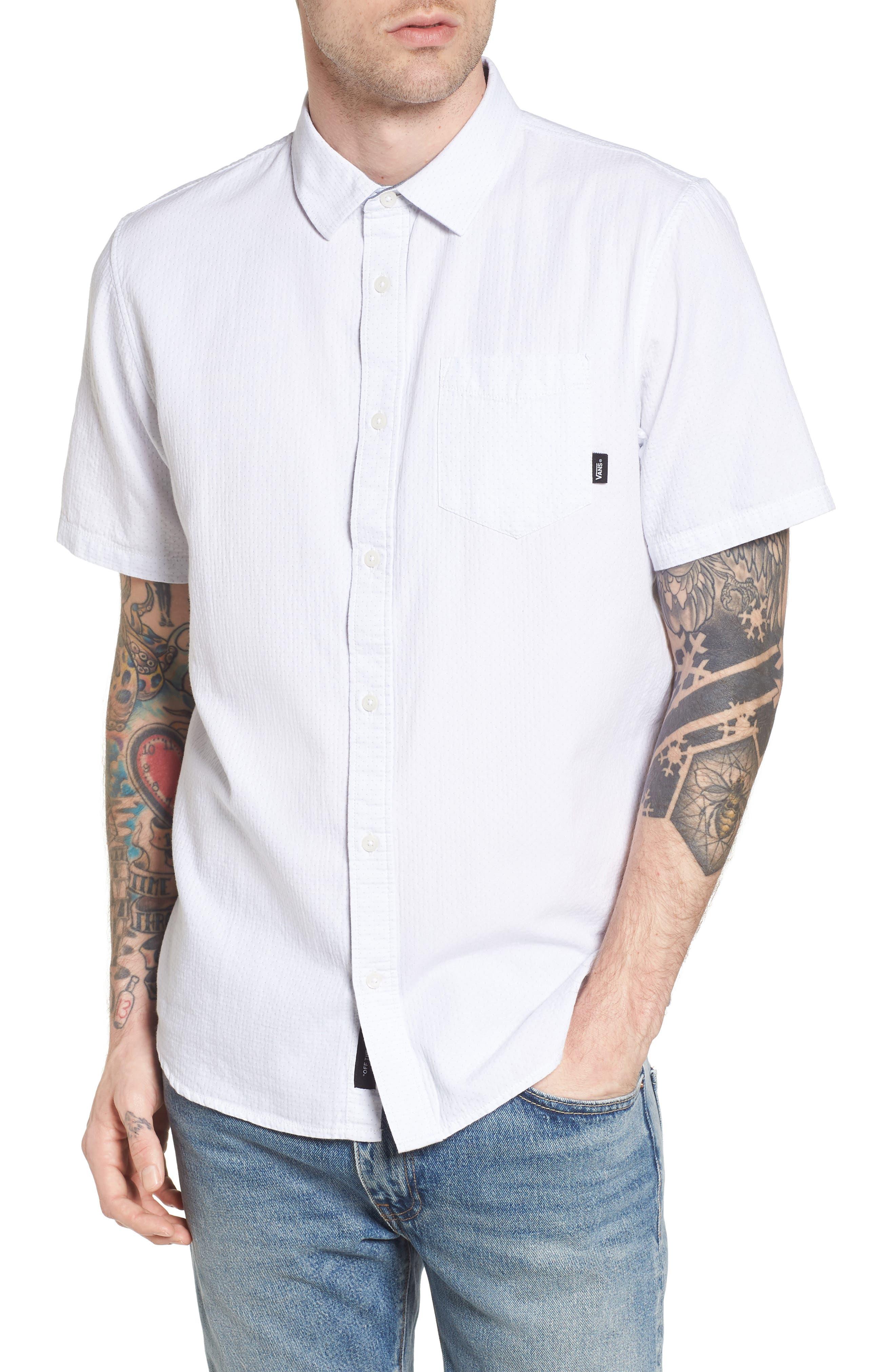 Fairdale Woven Shirt,                             Main thumbnail 1, color,                             White
