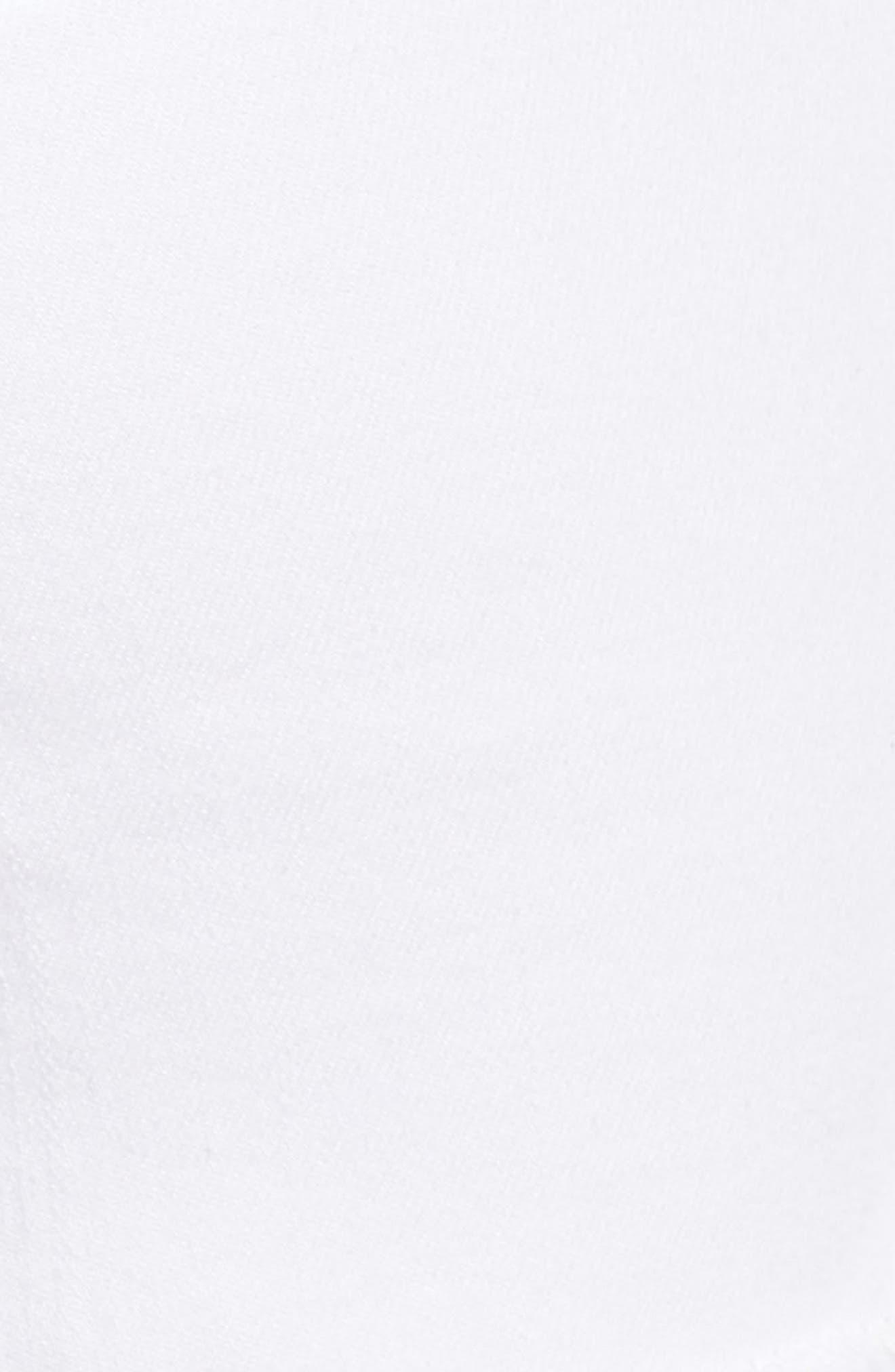 Tux Frayed Denim Shorts,                             Alternate thumbnail 5, color,                             Jaime