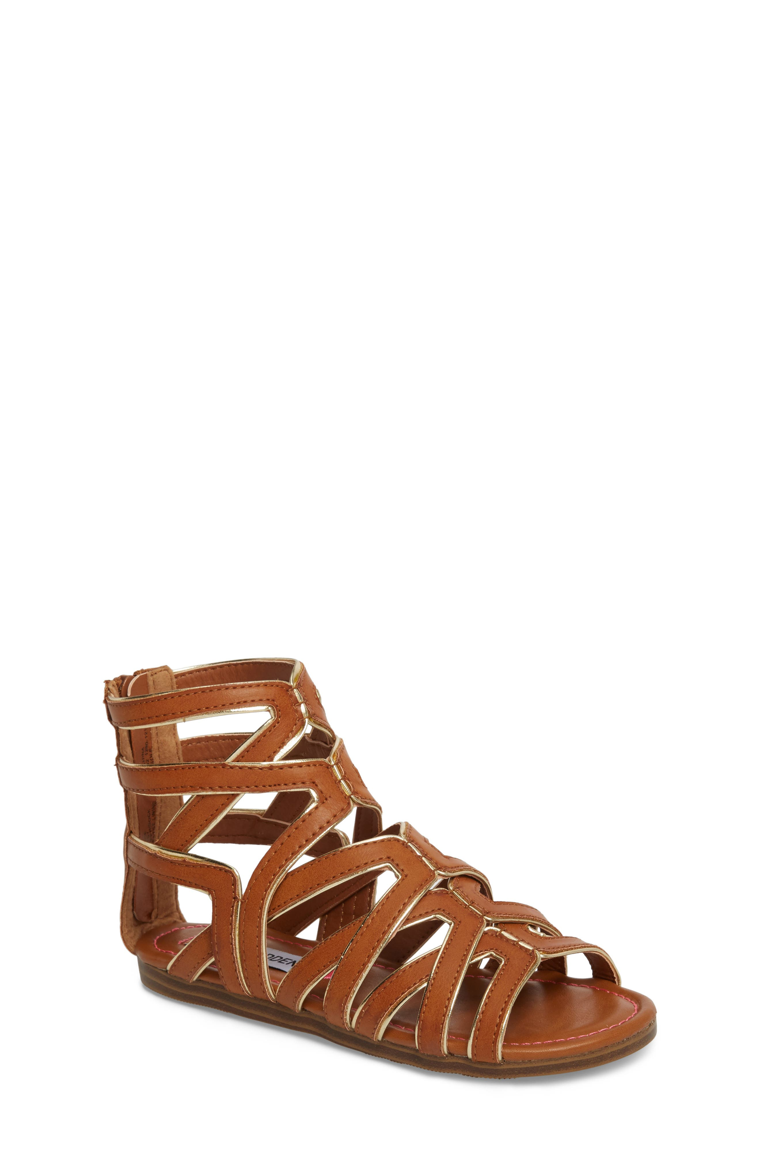 Steve Madden Jessence Gladiator Sandal (Little Kid & Big Kid)
