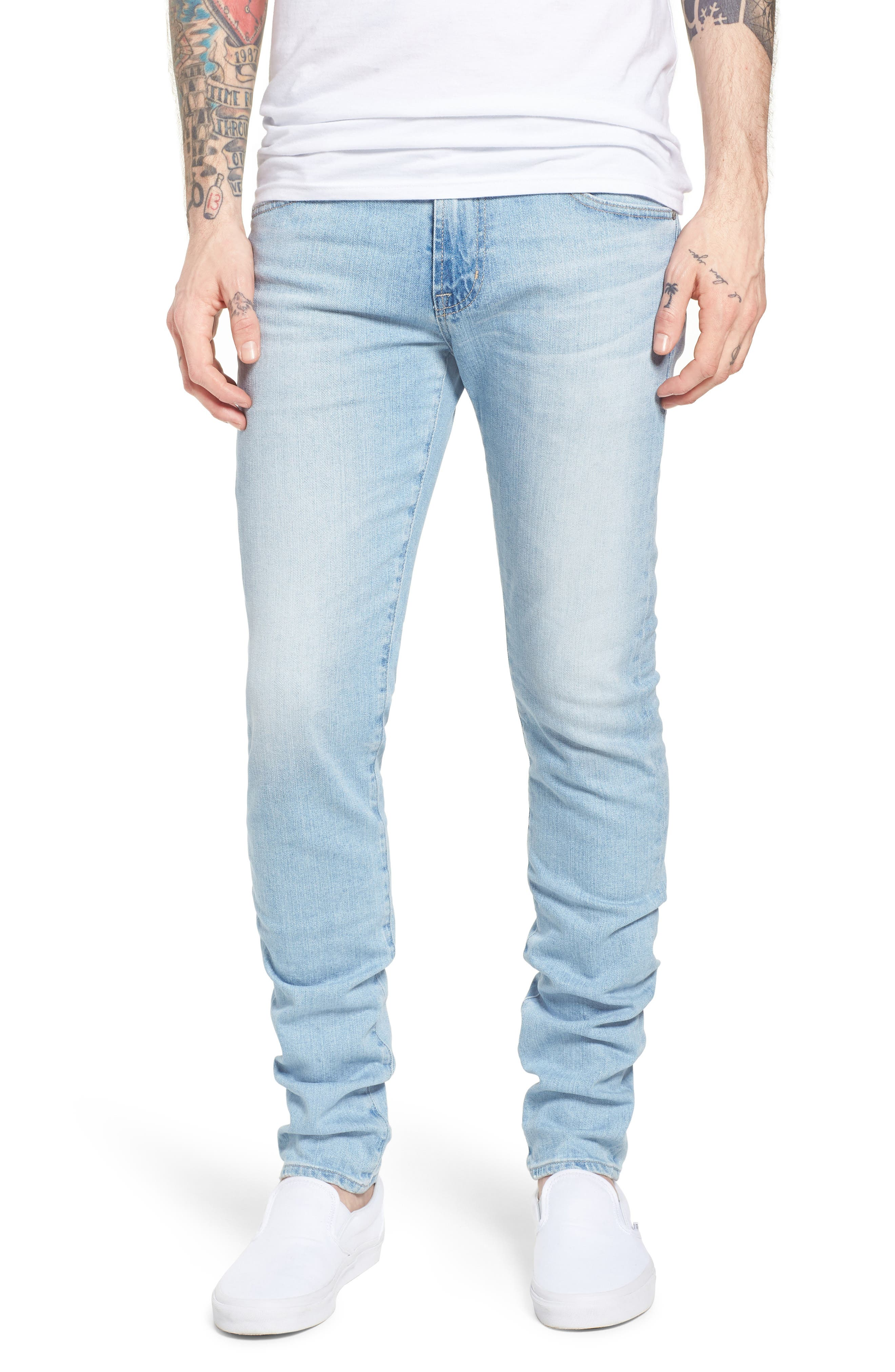 AG Stockton Skinny Fit Jeans (21 Years Solstice)
