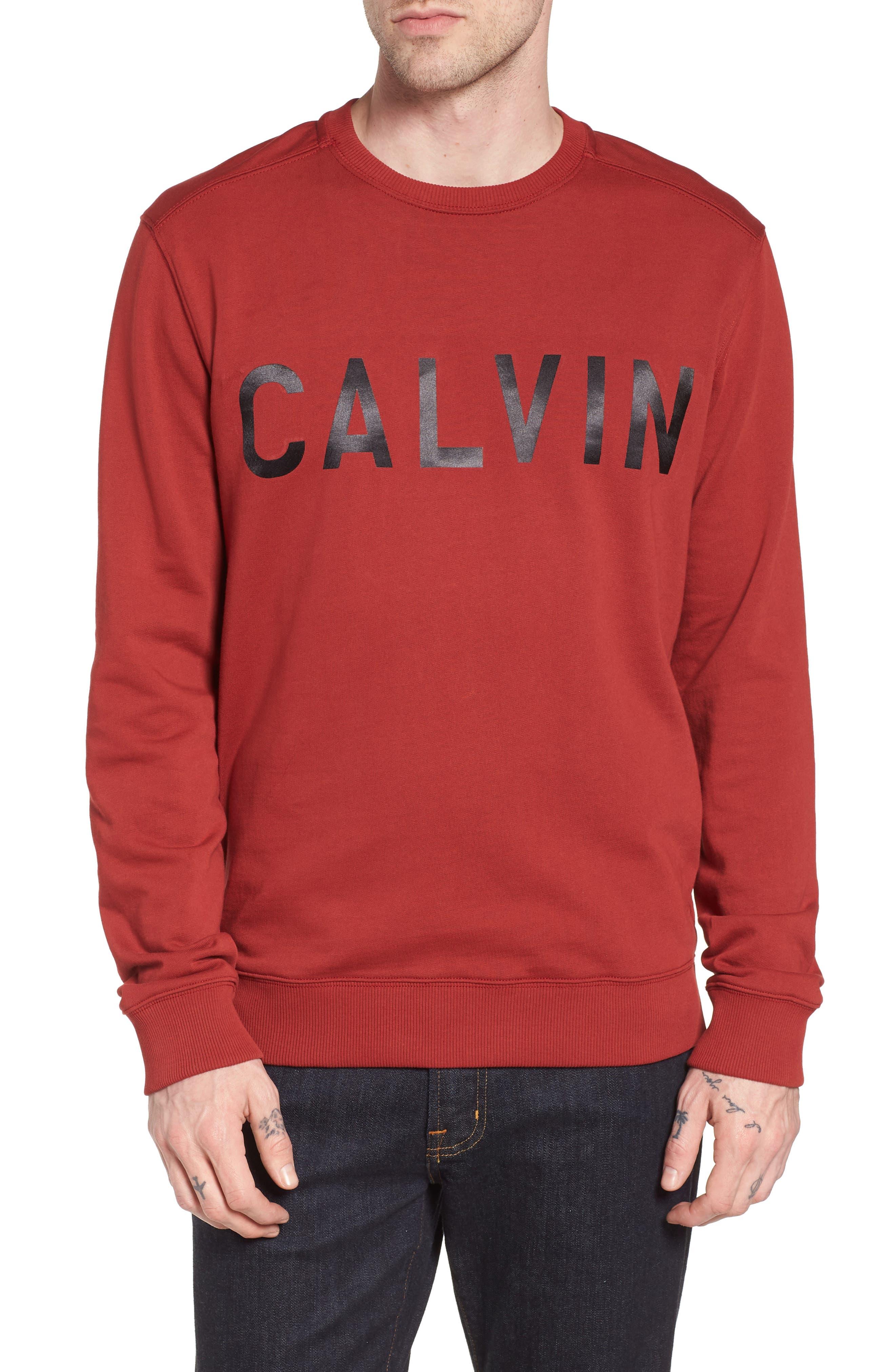 Calvin Klein Jeans Logo Crew Sweatshirt