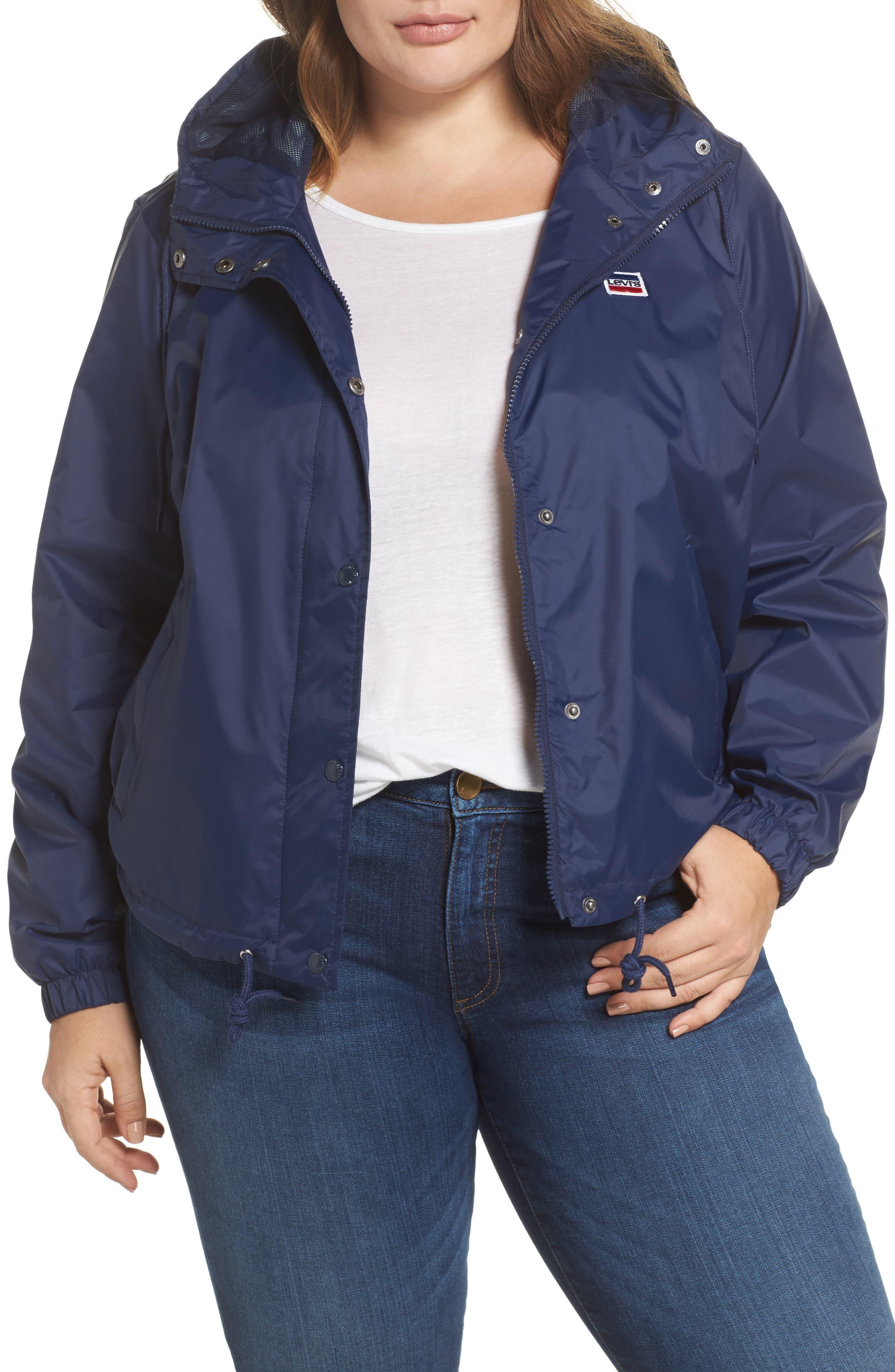 Levi's® Retro Hooded Coach's Jacket (Plus Size)