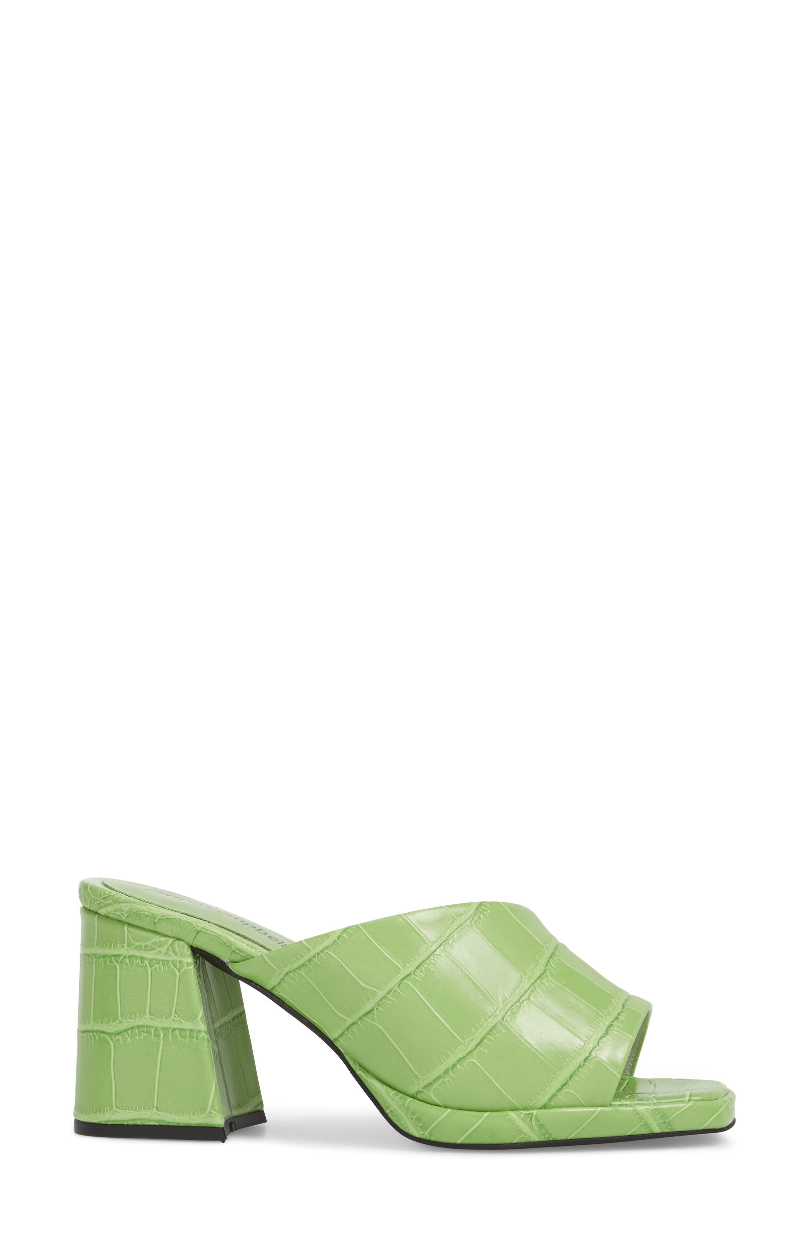 Suzuci Sandal,                             Alternate thumbnail 3, color,                             Green Leather