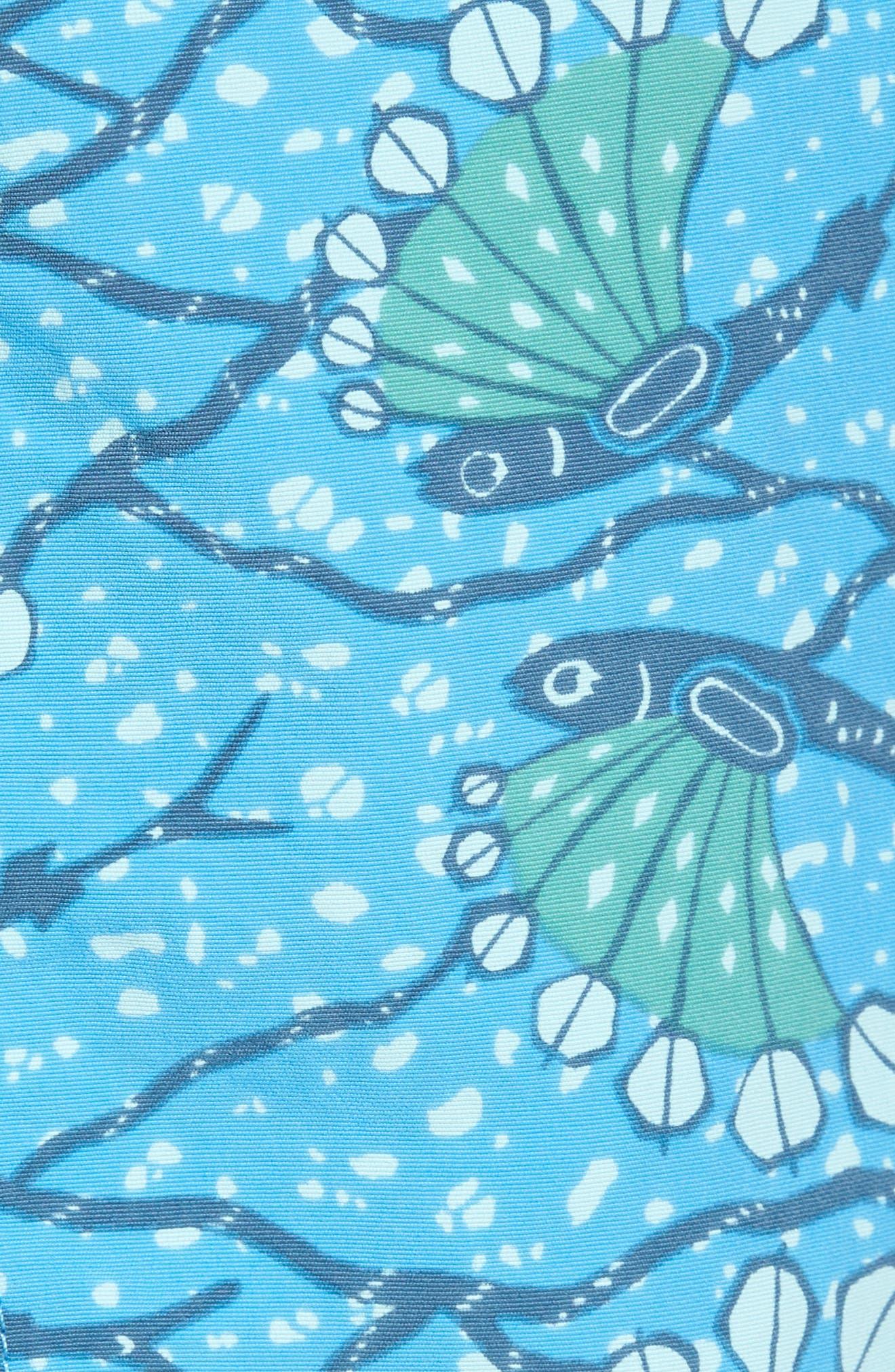 Baggies 5-Inch Swim Trunks,                             Alternate thumbnail 5, color,                             Hexy Fish Radar Blue
