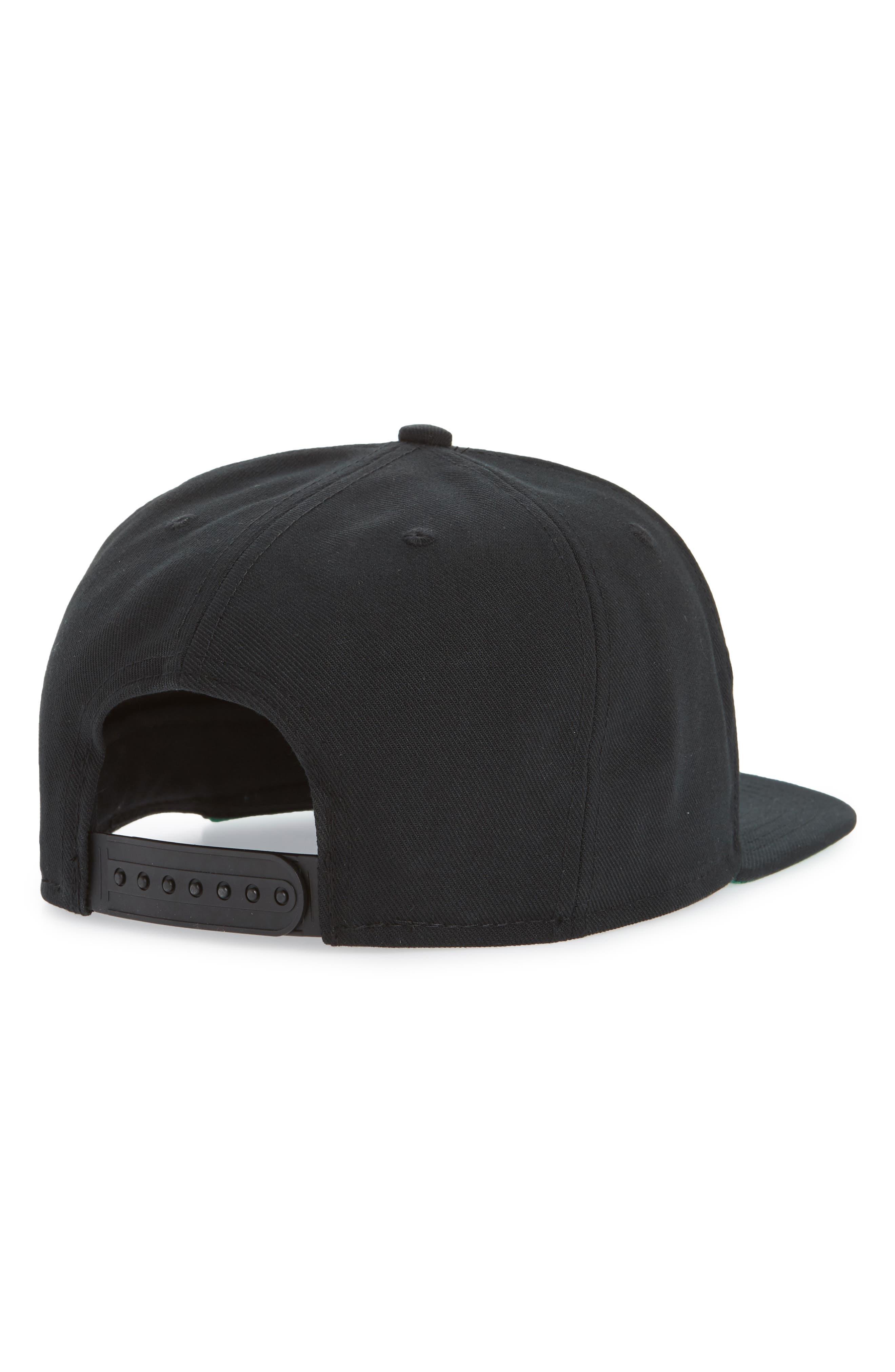 Pro Swoosh Classic Baseball Cap,                             Alternate thumbnail 2, color,                             Black/ Pine Green/ Blck/ White