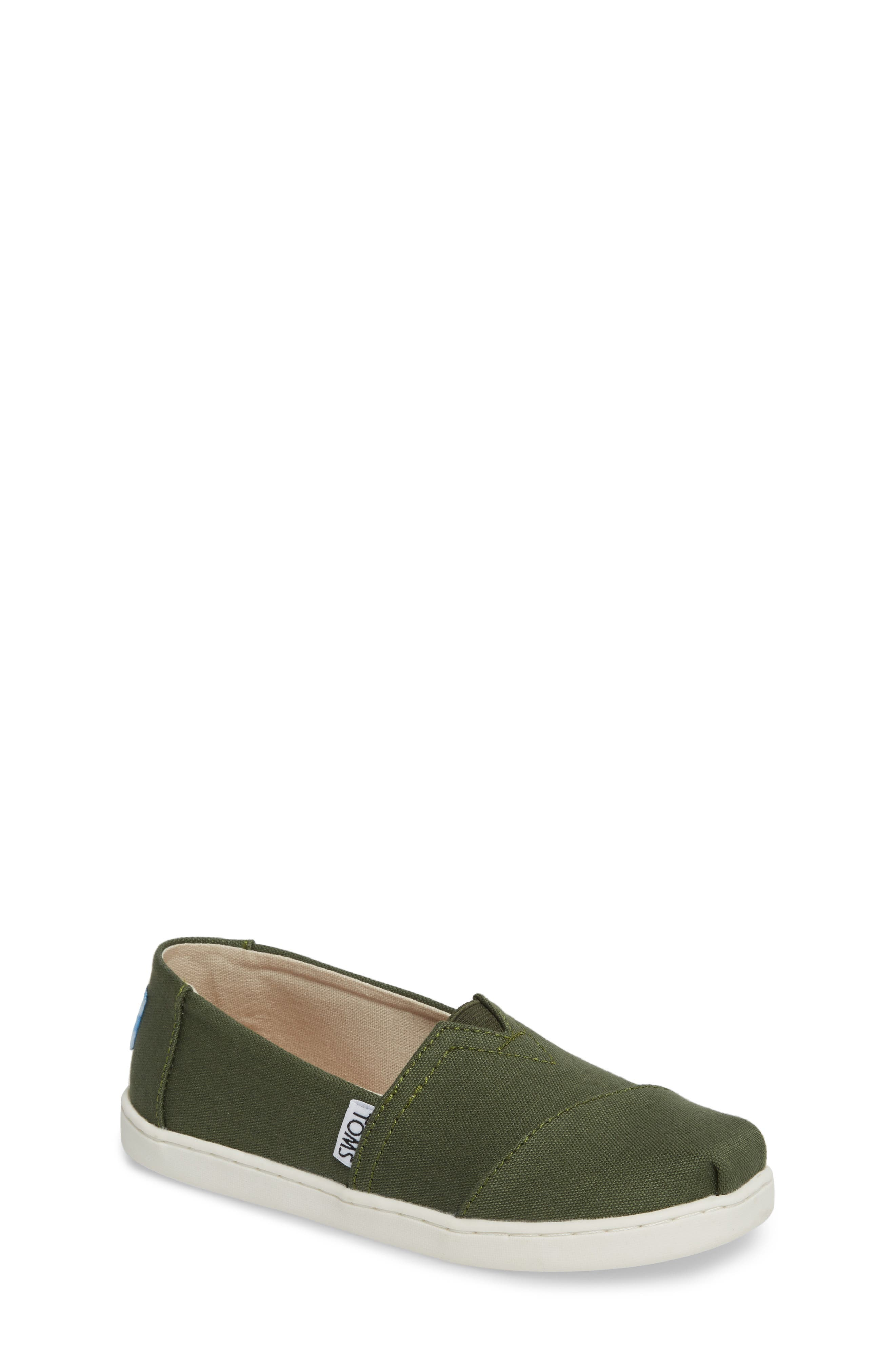 Heritage Canvas Slip-On,                             Main thumbnail 1, color,                             Pine Canvas