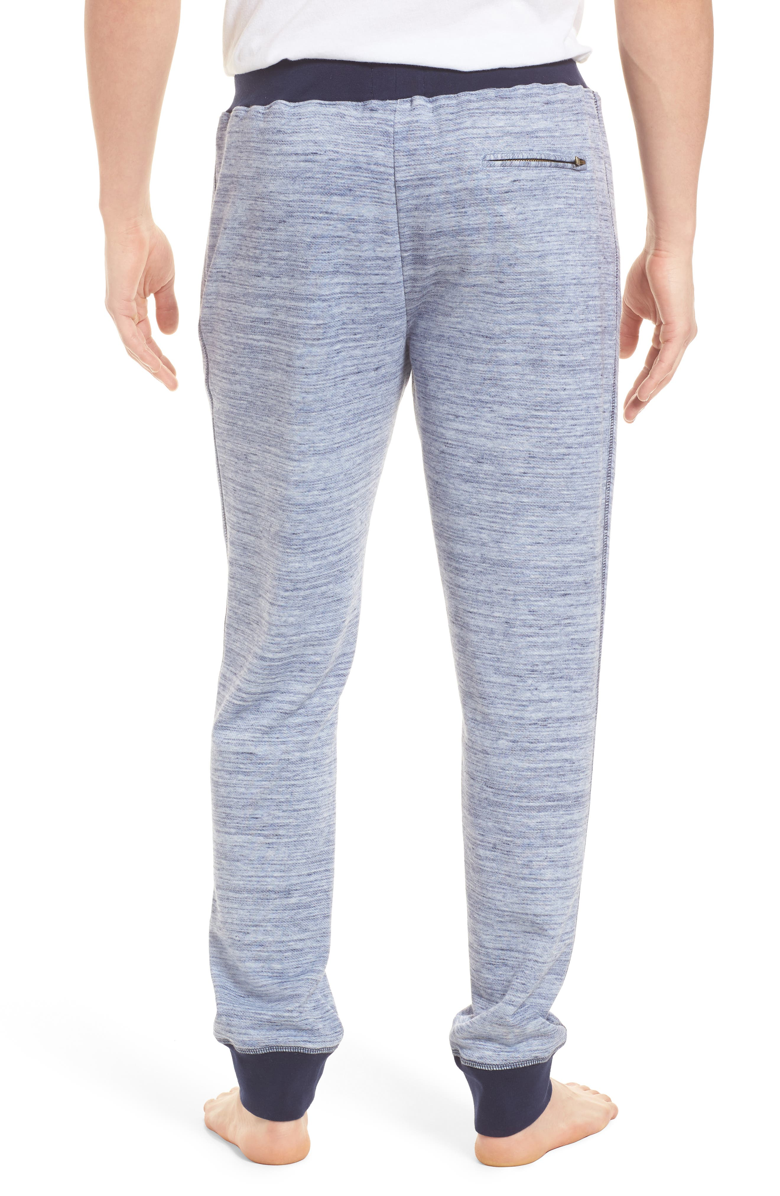 Swept In Waves Lounge Pants,                             Alternate thumbnail 2, color,                             Alfresco French Terry