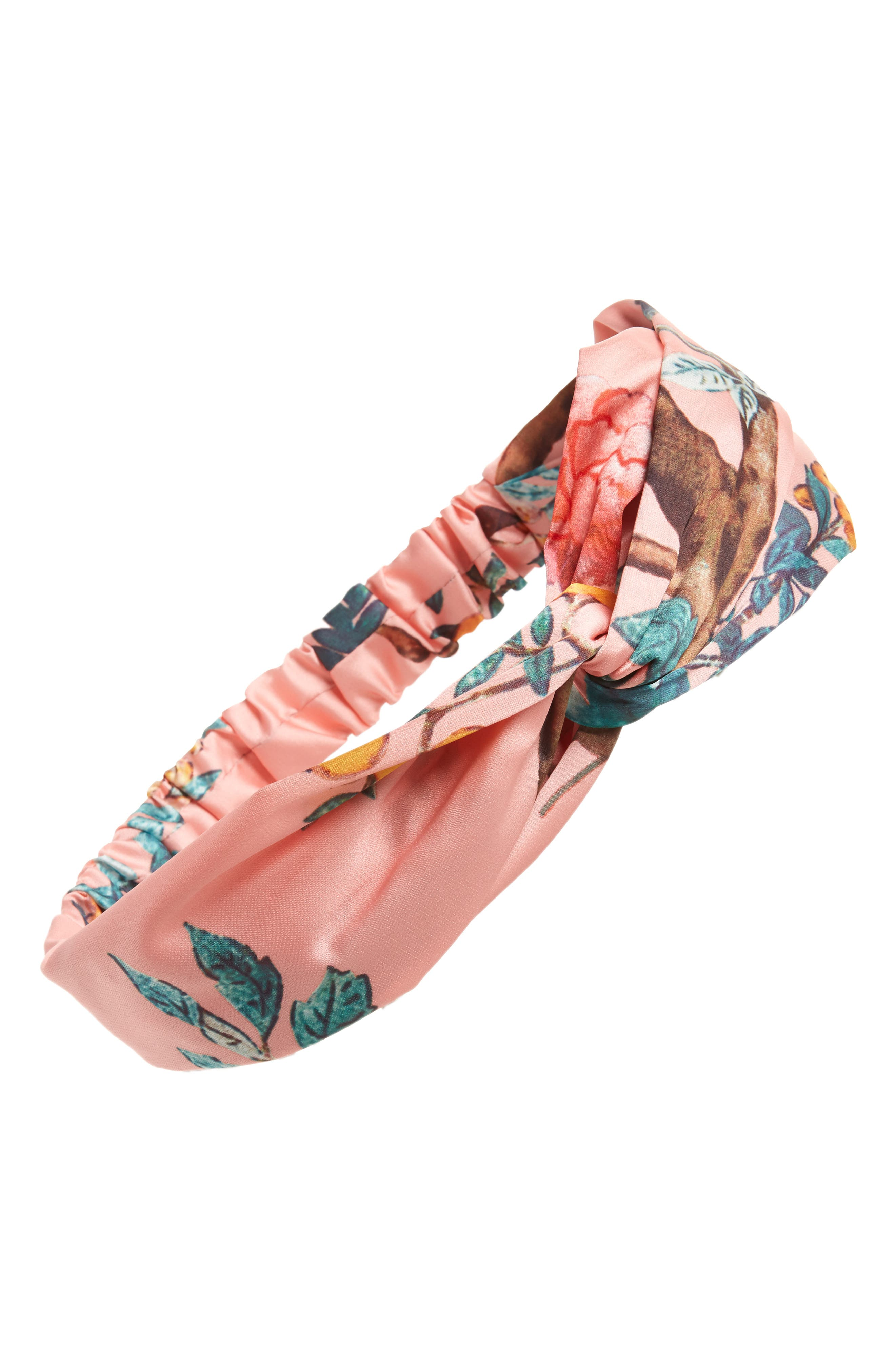 Cara Floral Forest Print Head Wrap